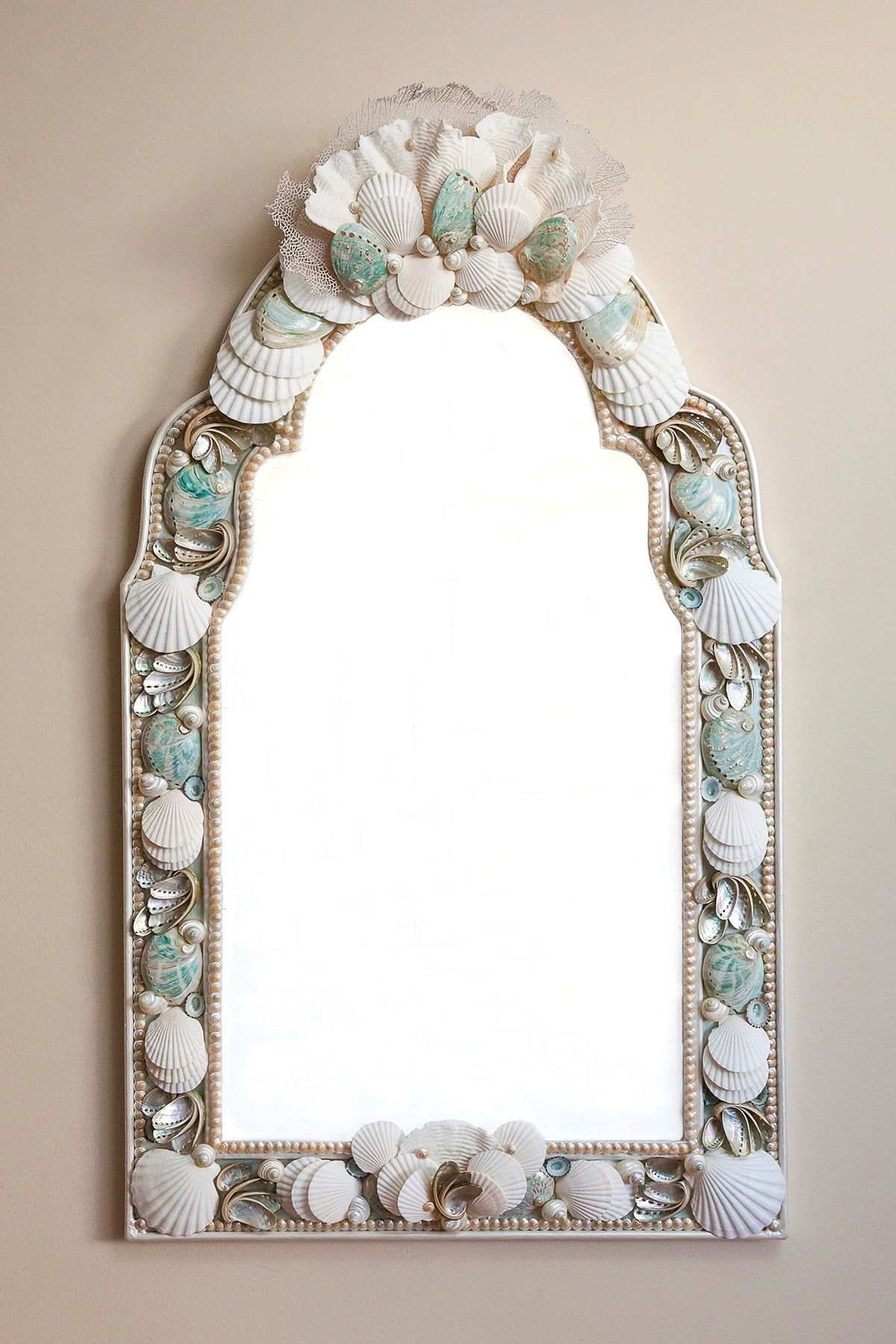 Shellwork Mirrors, Frames (View 15 of 20)