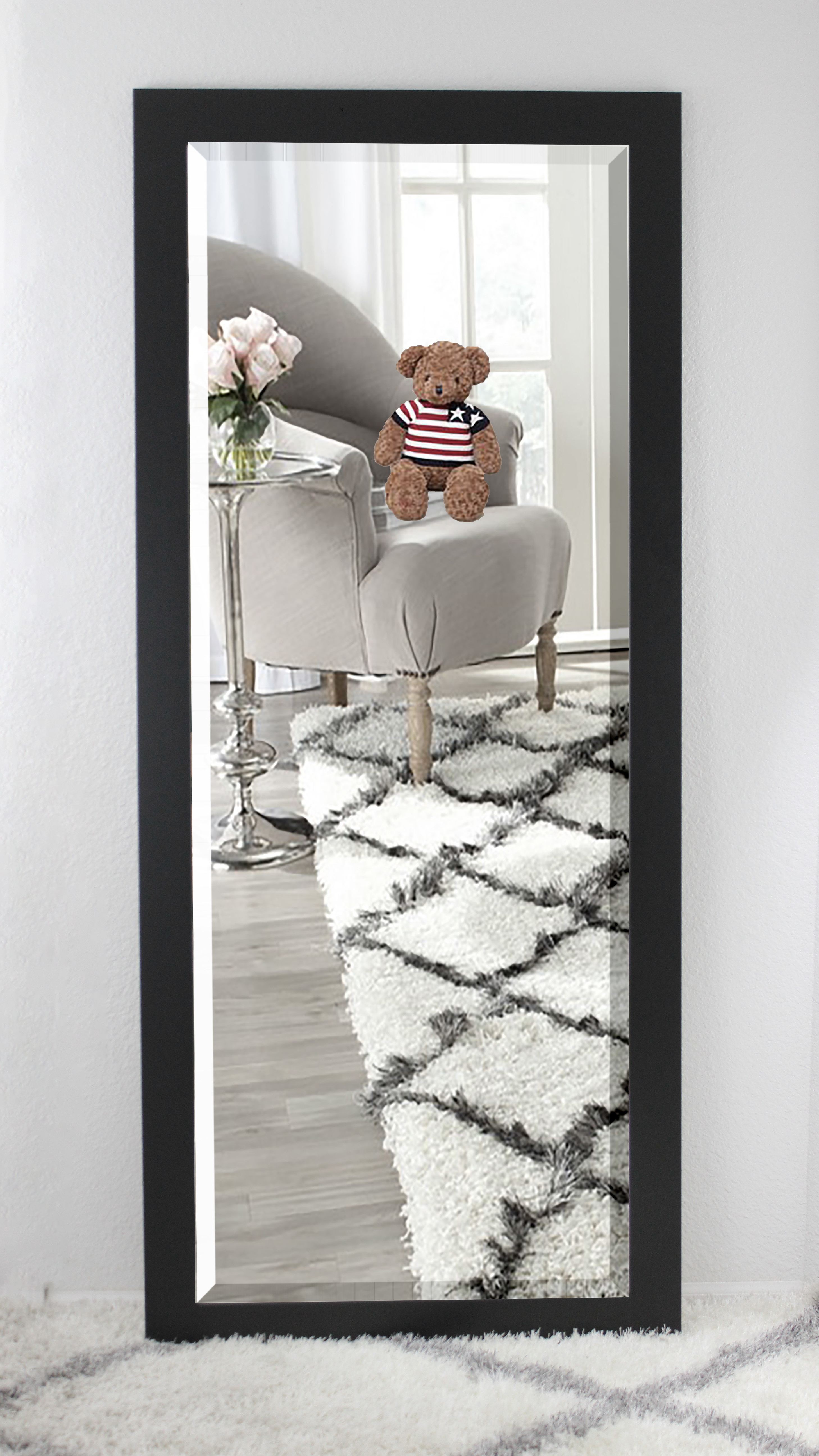 Shildon Beveled Accent Mirrors With Trendy Beveled Wall Mirror (View 16 of 20)