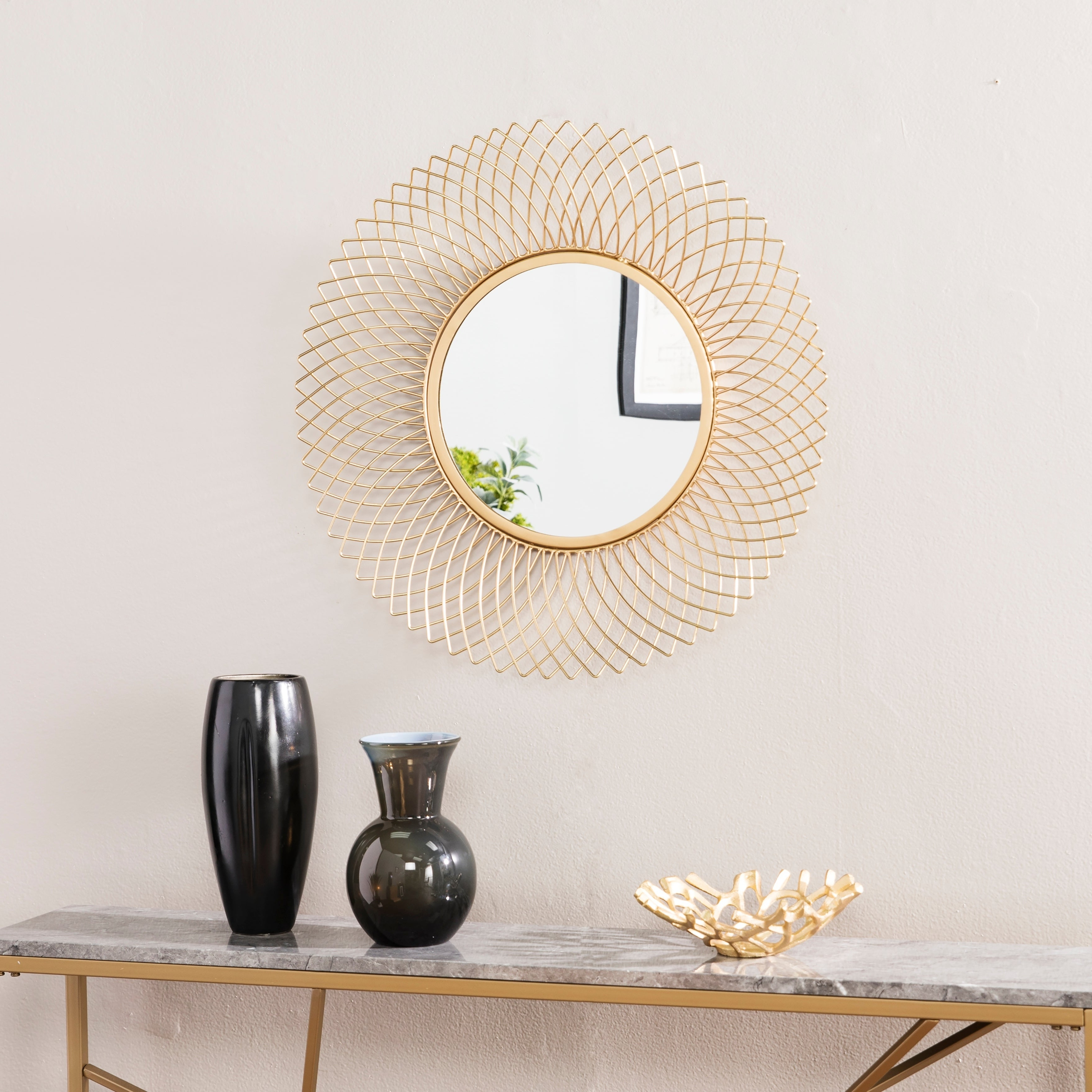 Shop Online At Overstock In Needville Modern & Contemporary Accent Mirrors (View 20 of 20)