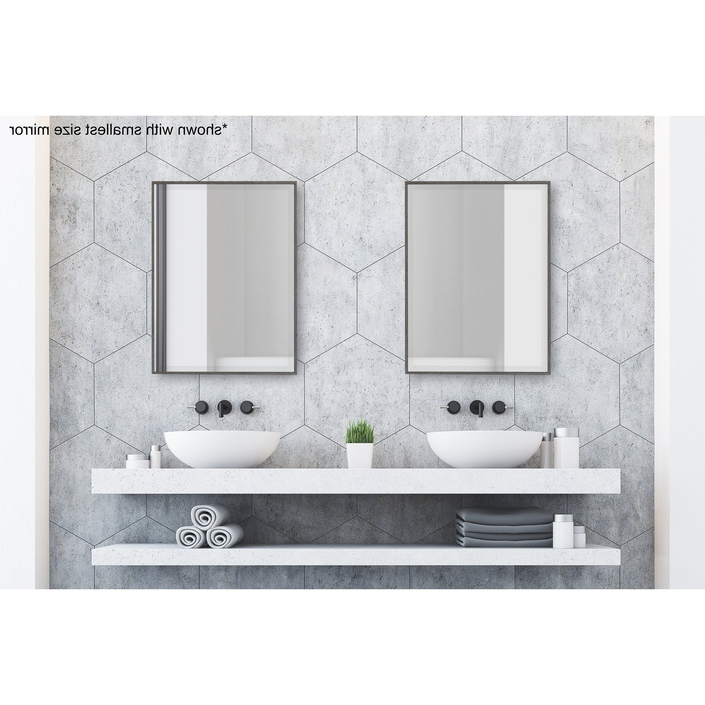 Shop Online At Overstock Inside Wallingford Large Frameless Wall Mirrors (View 6 of 20)