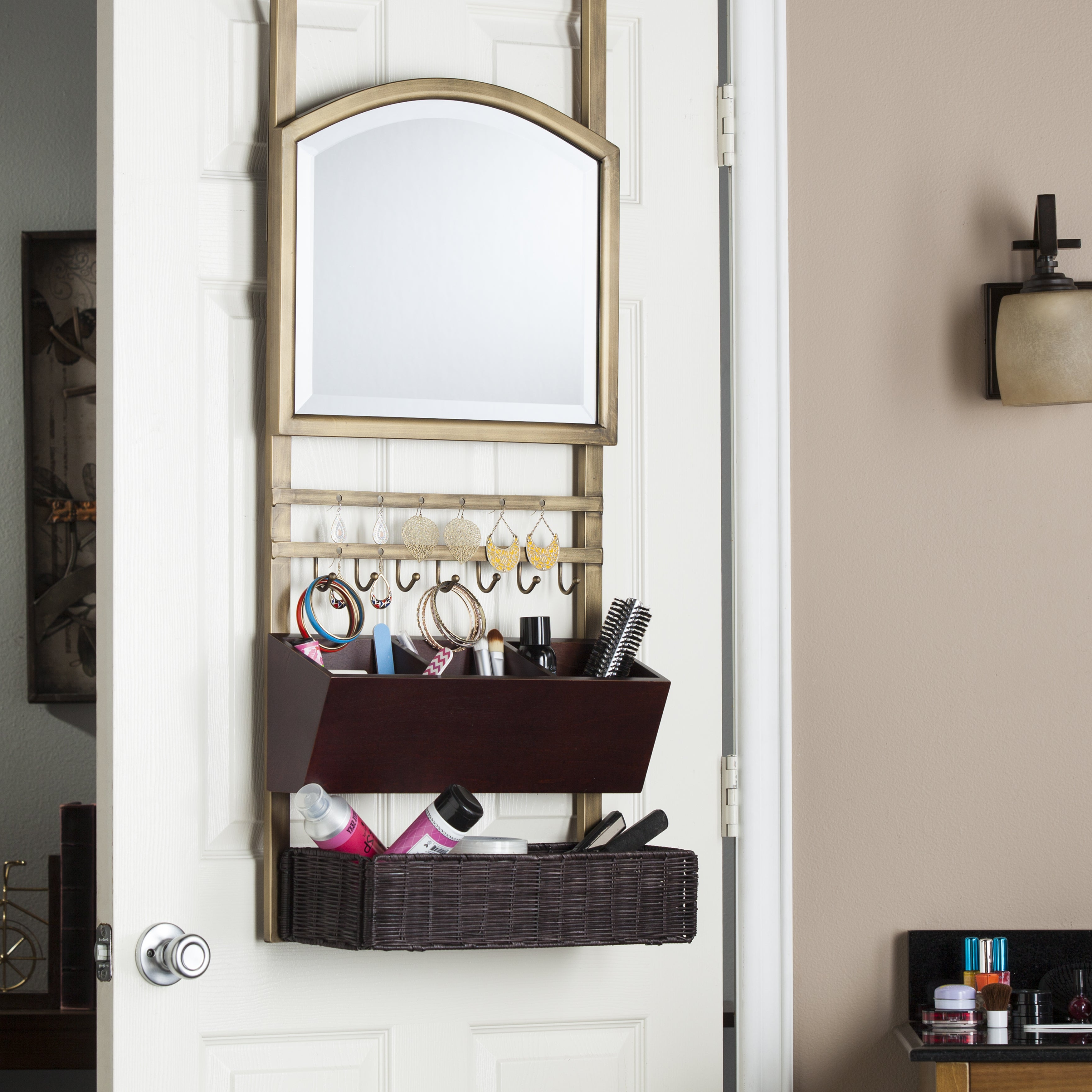 Shop Online At Overstock Regarding Well Known Arch Top Vertical Wall Mirrors (View 17 of 20)