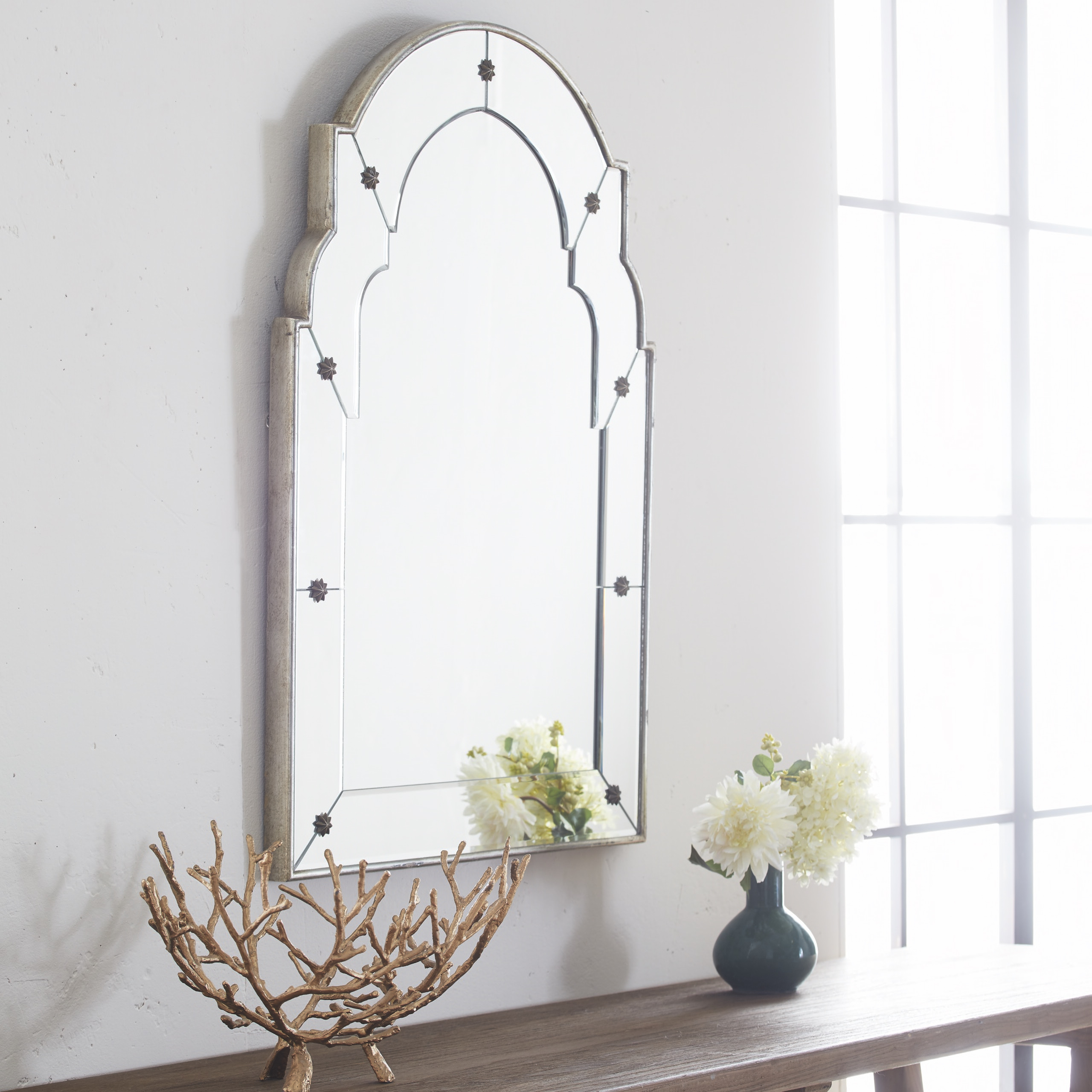 Short French Salon Mirror In (View 16 of 20)