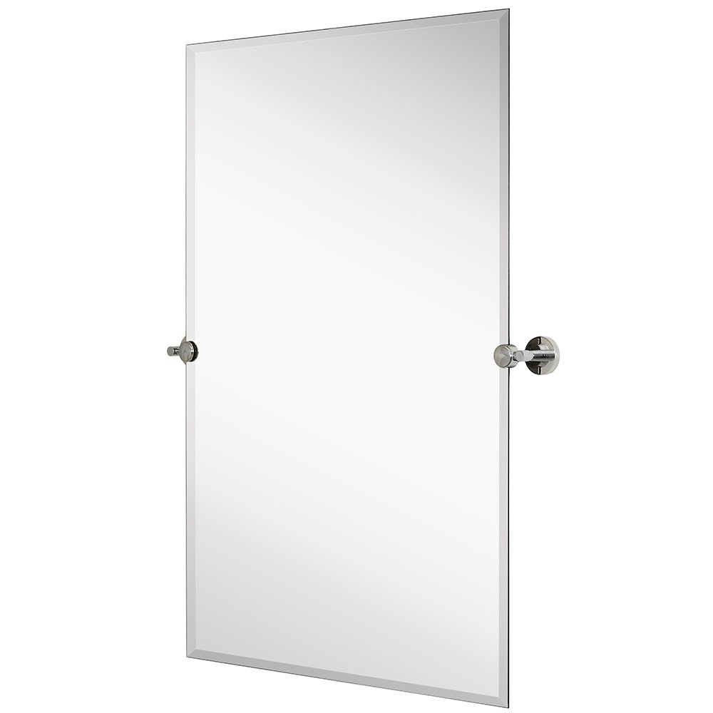 Silver Backed Adjustable Moving & Tilting Wall Mirror (View 14 of 20)