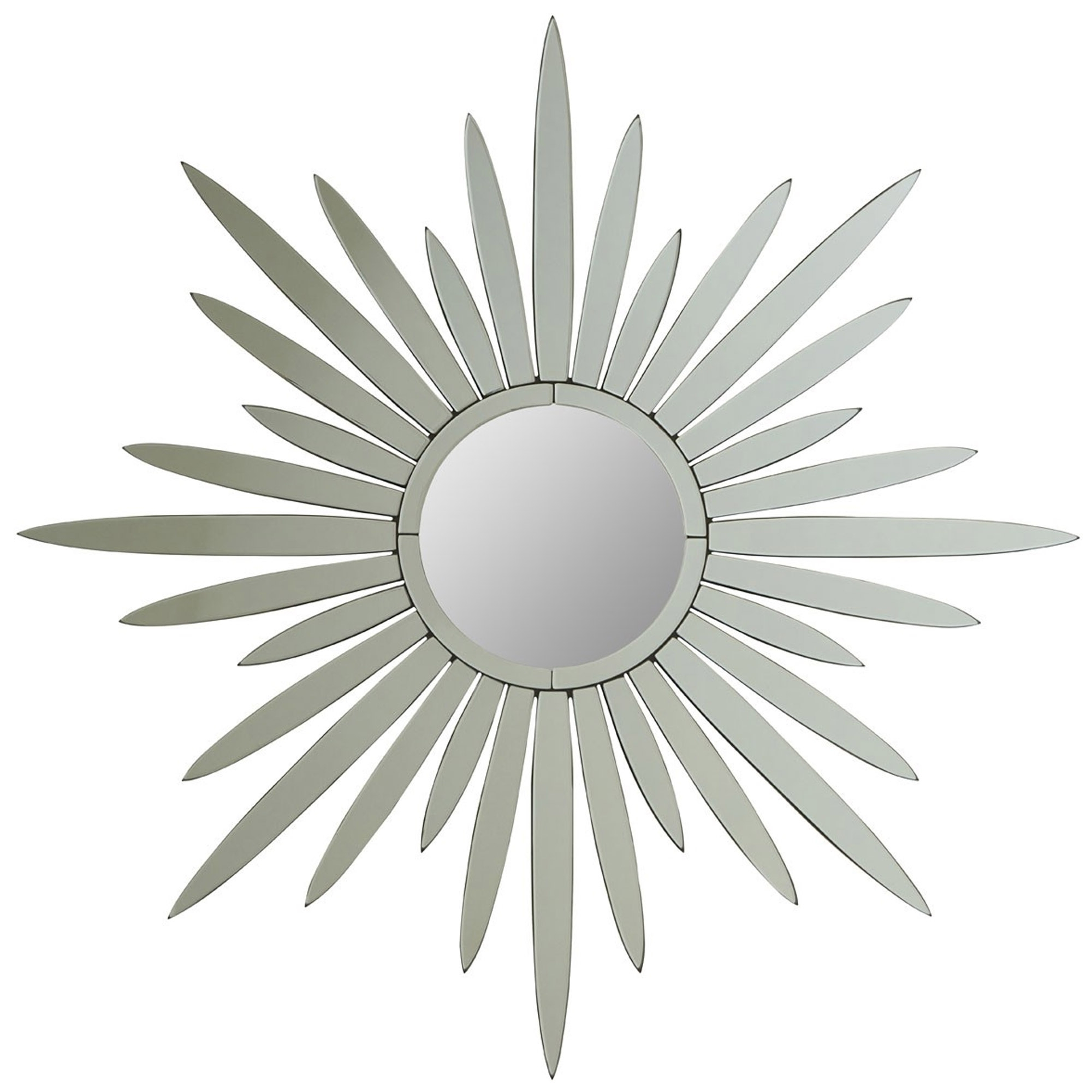 Silver Star Wall Mirror Pertaining To Widely Used Star Wall Mirrors (View 8 of 20)