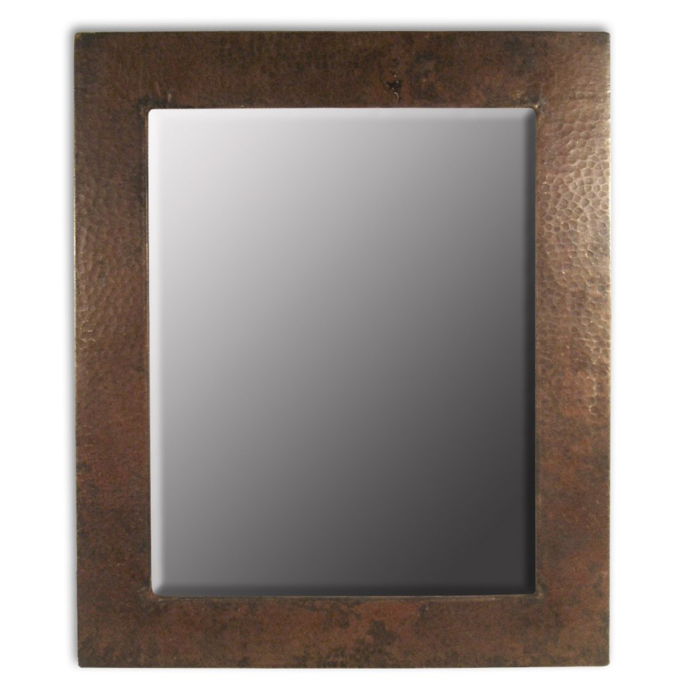 Small Antique Wall Mirrors Regarding Latest Native Trails Cpm62 Sedona Rectangular Wall Mirror Small Antique Copper (View 10 of 20)