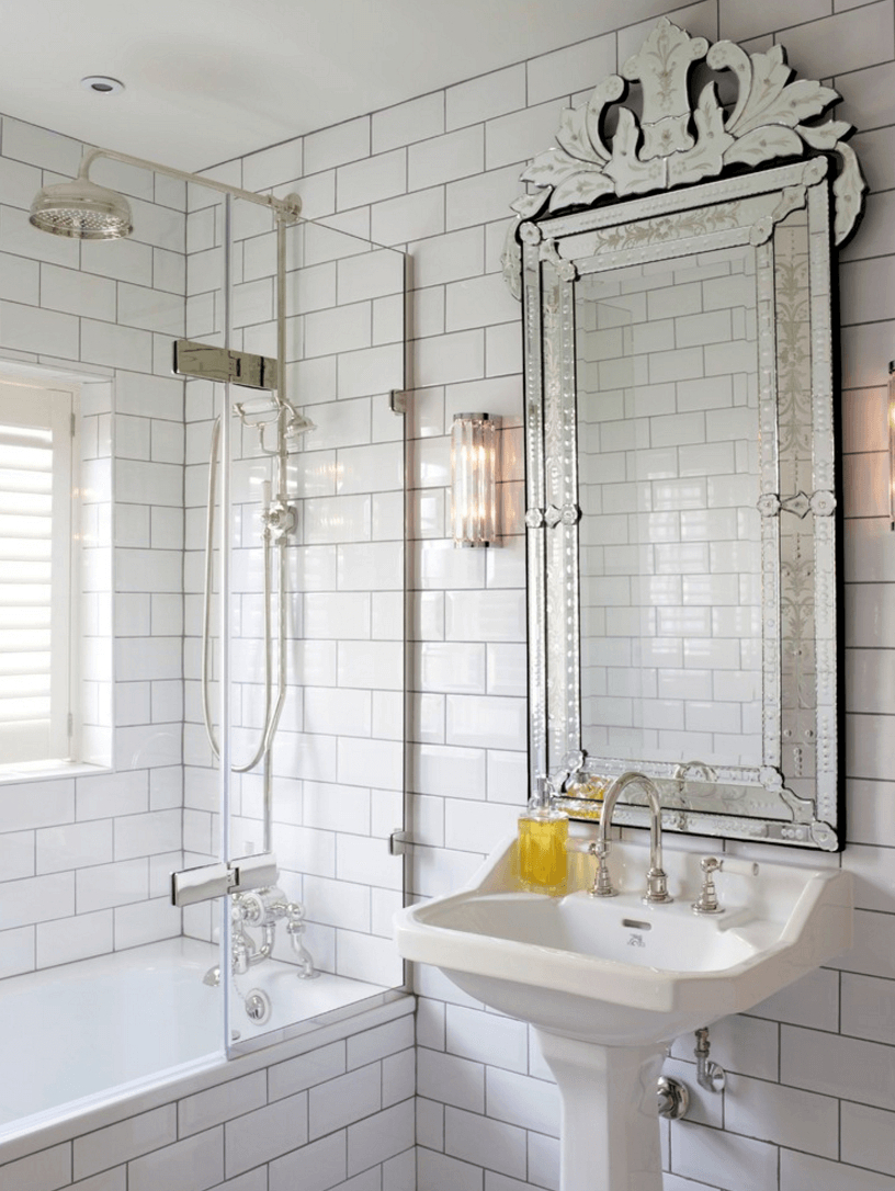 Small Bathroom Wall Mirrors Intended For Most Current Useful And Aesthetic Bathroom Mirrors — Night Hawk Bb (View 17 of 20)