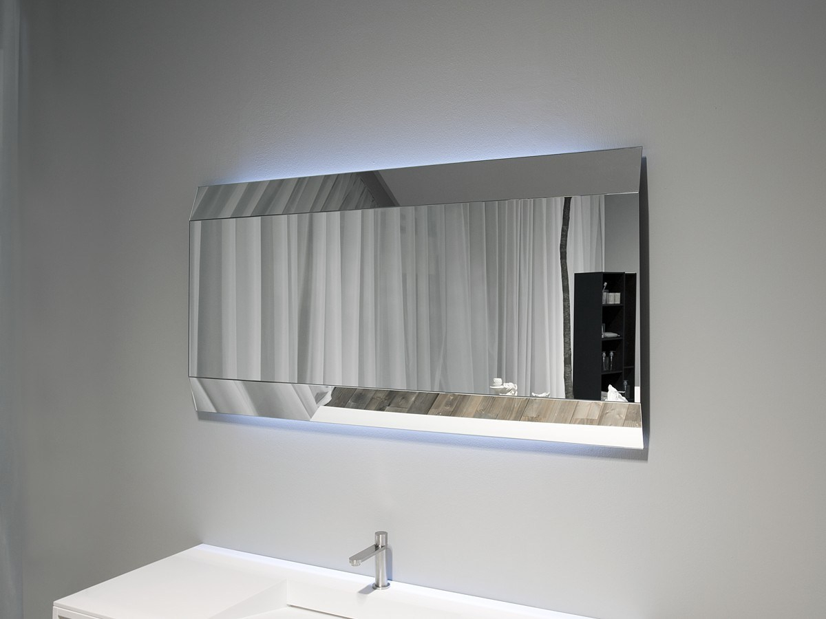 Small Bathroom Wall Mirrors Pertaining To Well Known Top 35 Brilliant Astounding Modern Bathroom Mirrors Images (Gallery 17 of 20)