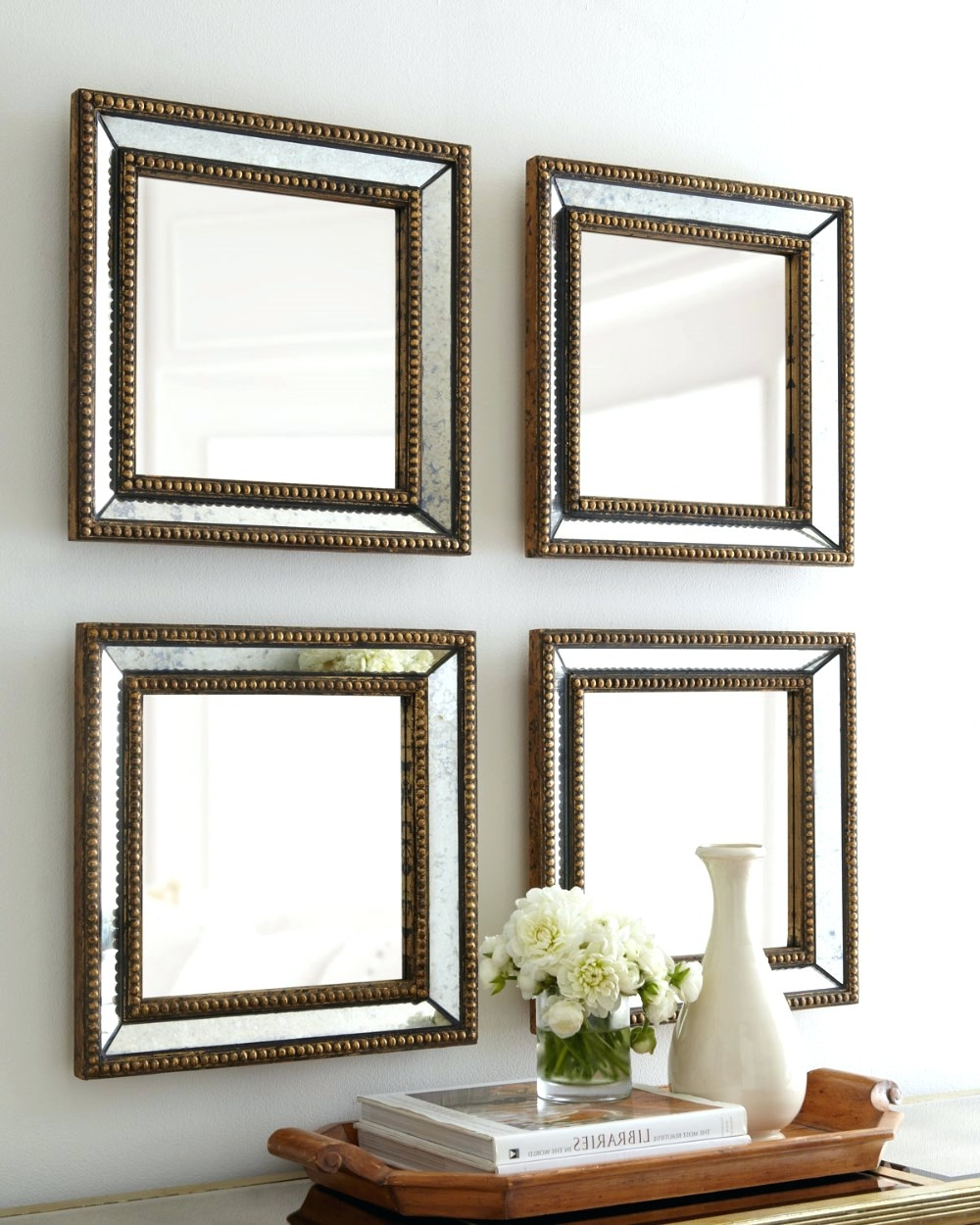 Small Decorative Wall Mirror Set Walls Decor Throughout Within Recent Small Decorative Wall Mirror Sets (View 14 of 20)