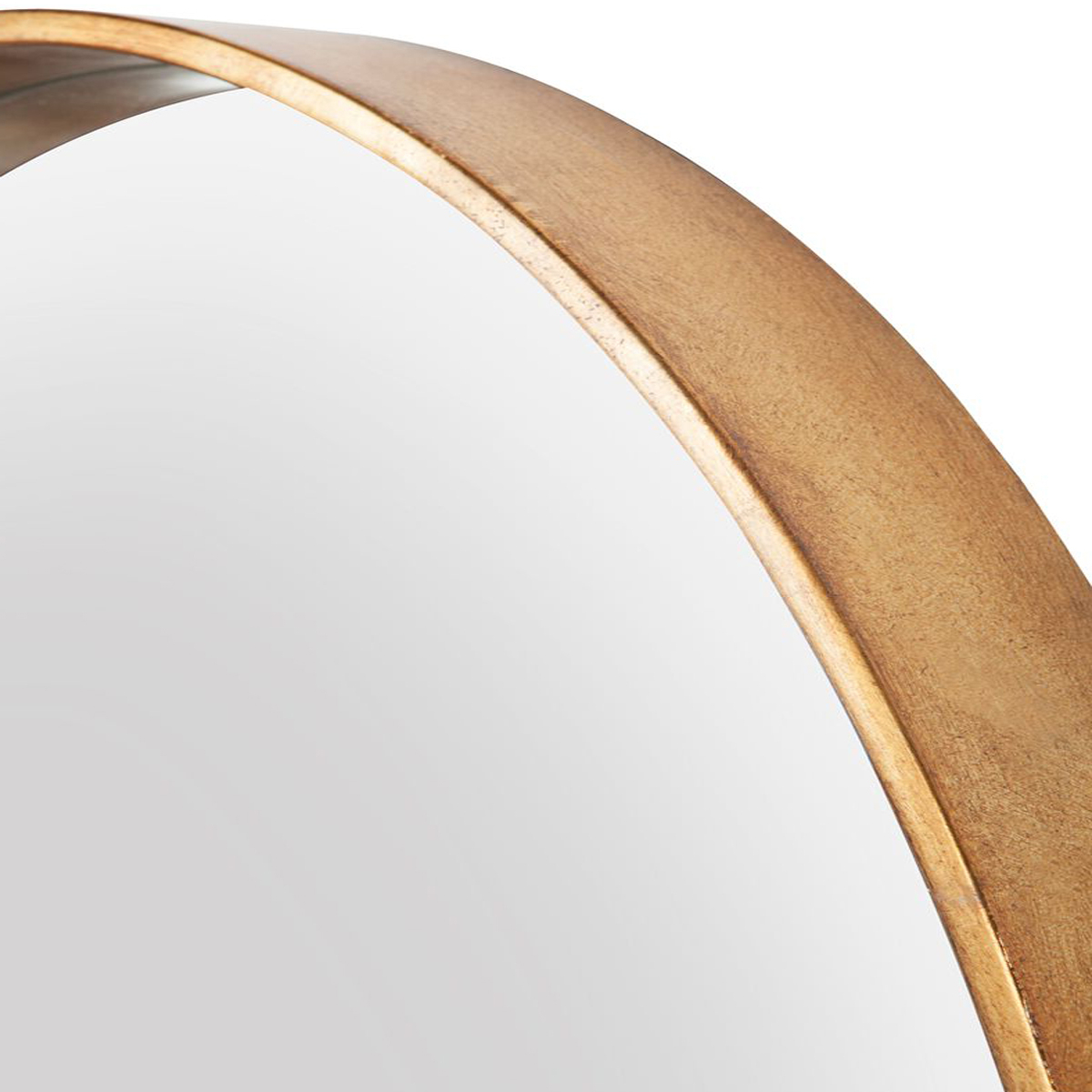 Small Oval Wall Mirrors For Famous Davey Gold Oval Wall Mirror – Small 90 X 61Cm Or Large 115 X 78Cm (View 17 of 20)
