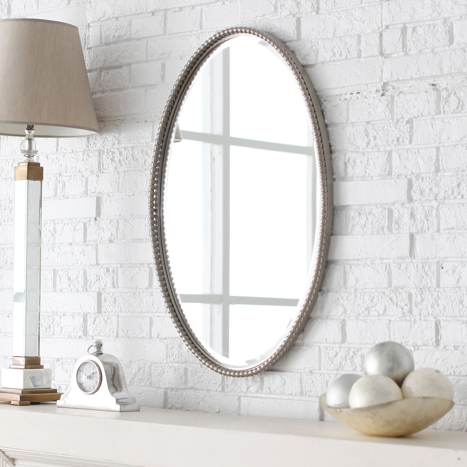 Small Oval Wall Mirrors With Regard To Recent Delightful Small Oval Beveled Mirror Shaving Ideas Depot Frame (View 19 of 20)
