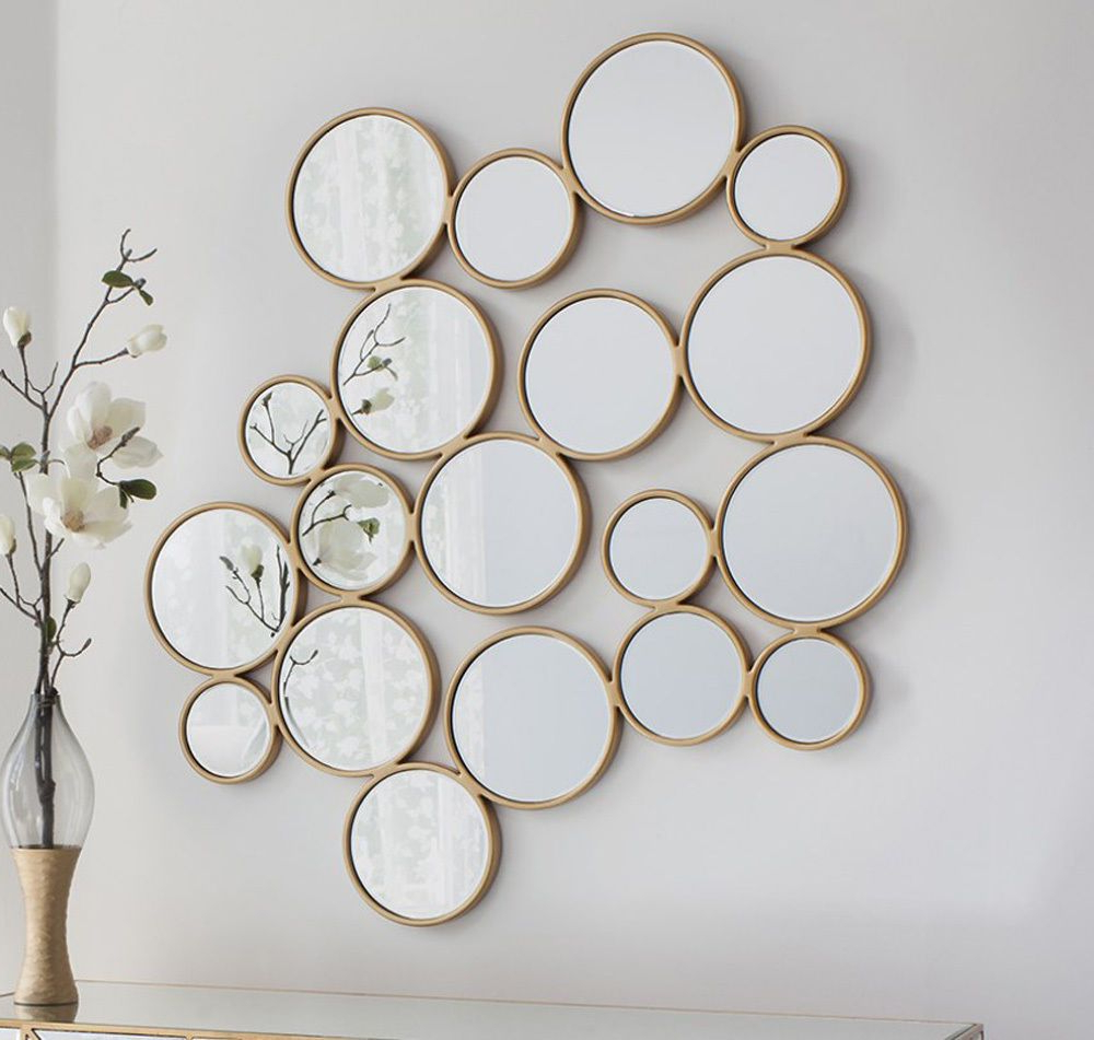 Small Round Mirrors Contemporary Modern Design Large Wall Mirror Regarding Well Known Small Round Wall Mirrors (View 13 of 20)