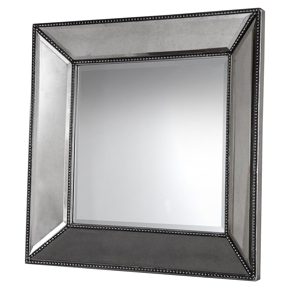 Small Wall Mirrors In Well Known Small Beaded Wall Mirror (View 8 of 20)