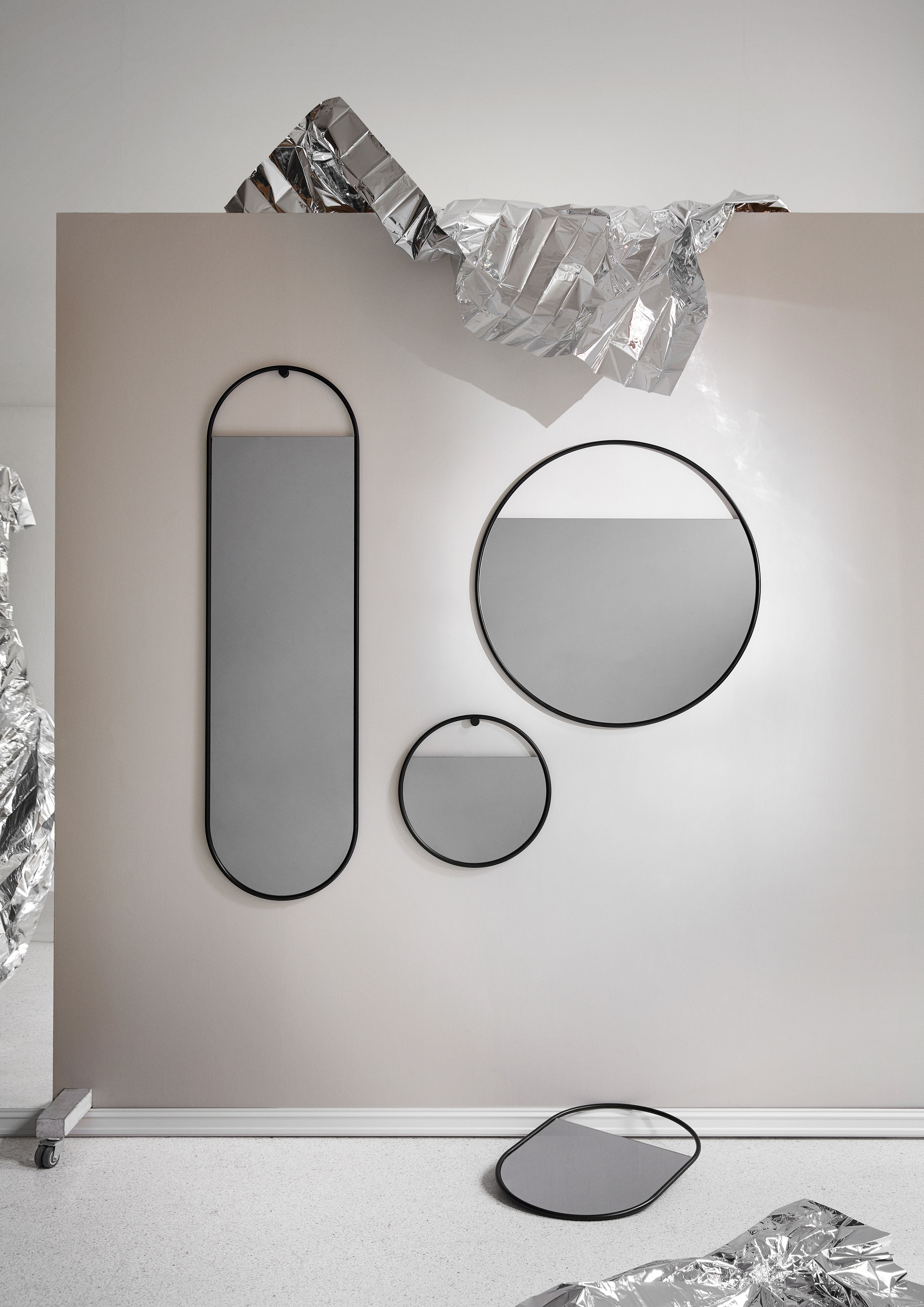 Small Wall Mirrors Intended For Famous Peek Small Wall Mirror – / Round – Ø 40 Cmnorthern (View 15 of 20)