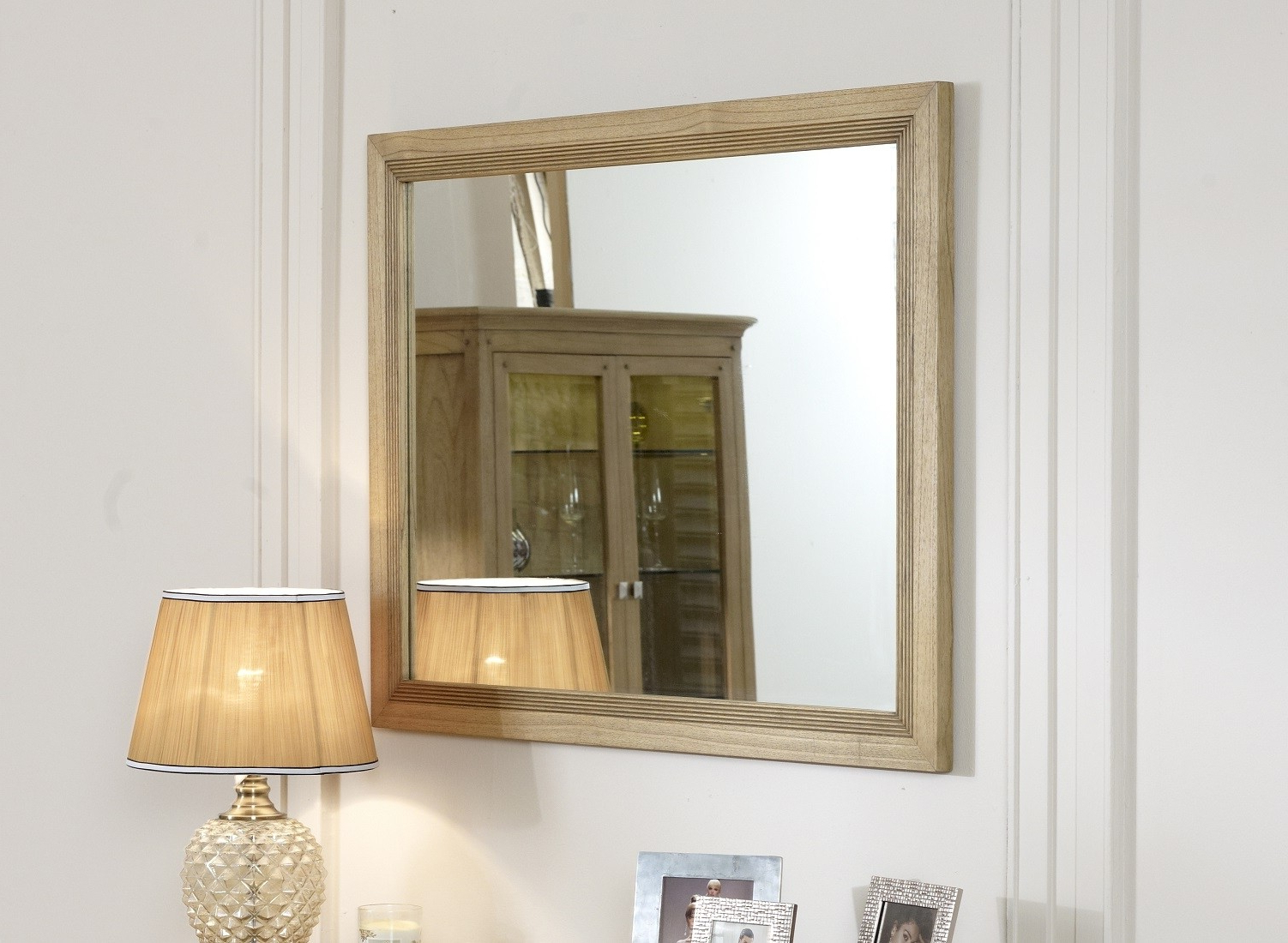 Small Wall Mirrors Throughout Most Popular Lincoln Ash Small Wall Mirror (View 11 of 20)