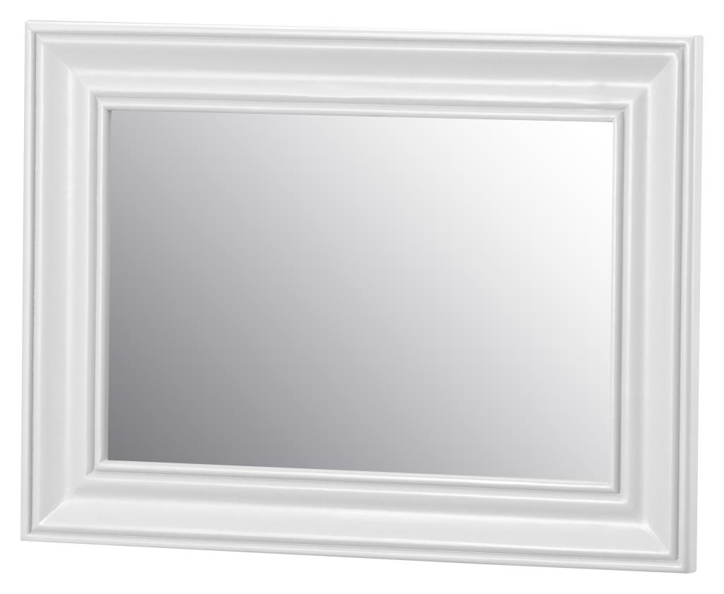 Small White Wall Mirrors Intended For Latest Ki – Brooke White Small Wall Mirror (View 6 of 20)