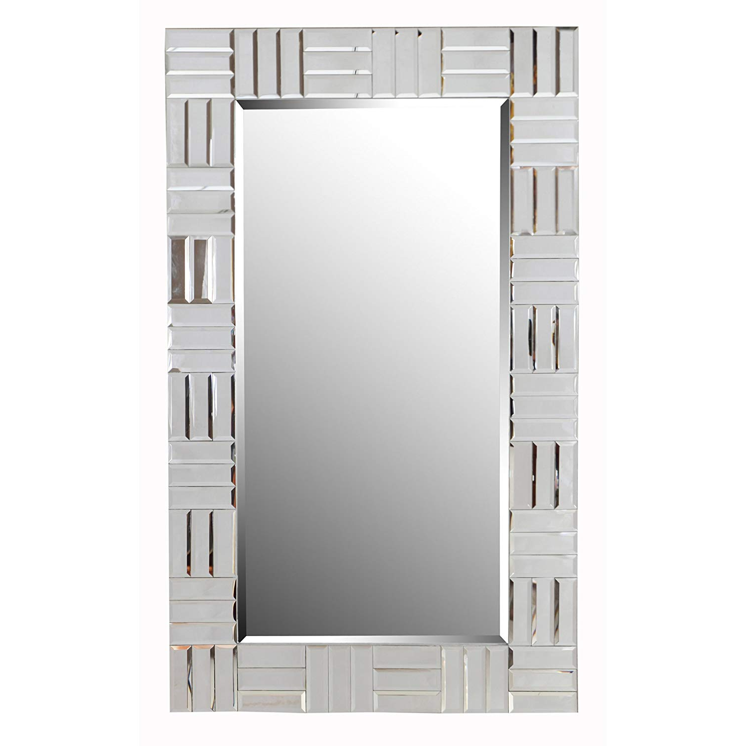 Sparkle Wall Mirrors Within Famous Amazon: Kenroy Home Sparkle Rectangular Wall Mirror (View 8 of 20)