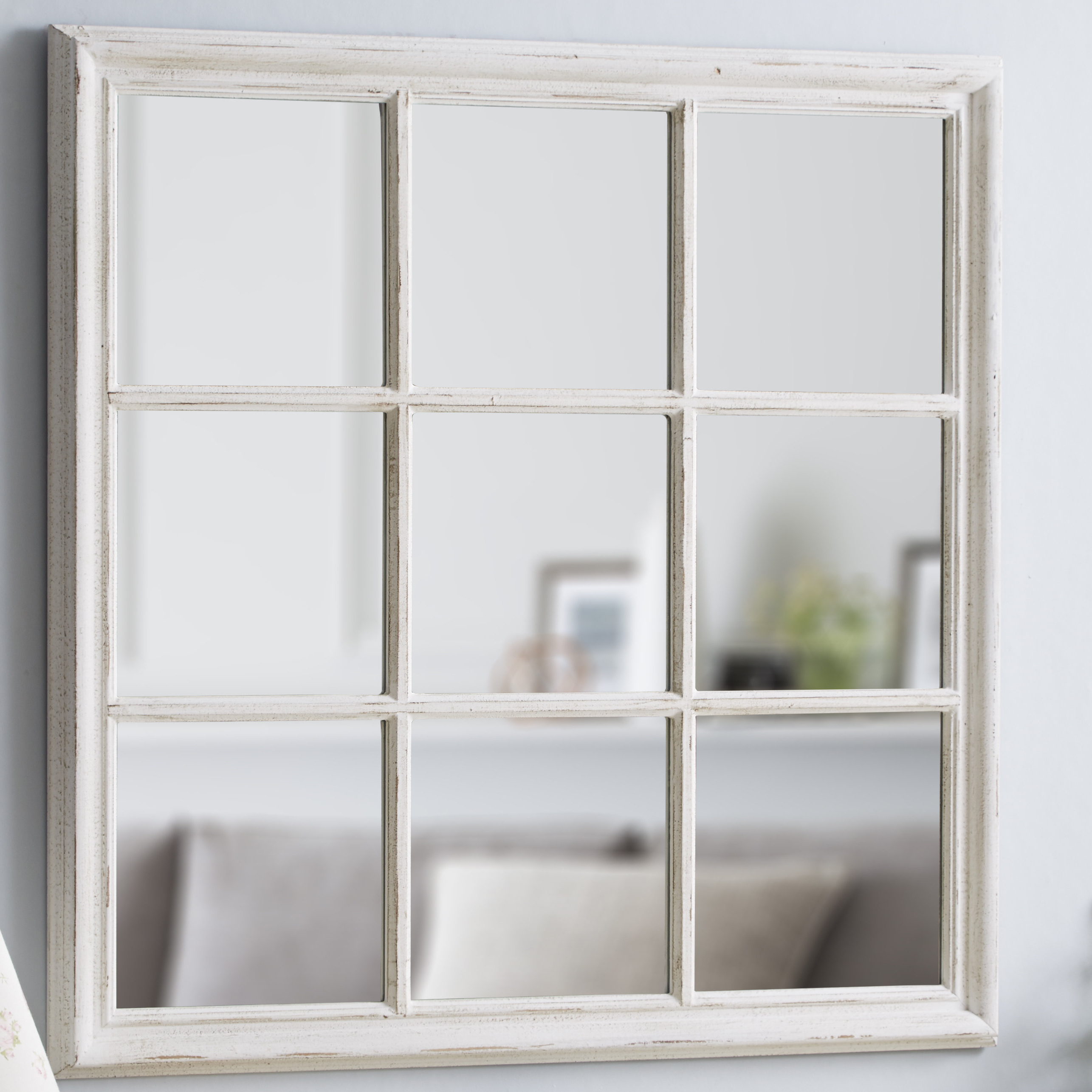 Square Window Wall Mirror Within Latest Large Square Wall Mirrors (View 16 of 20)