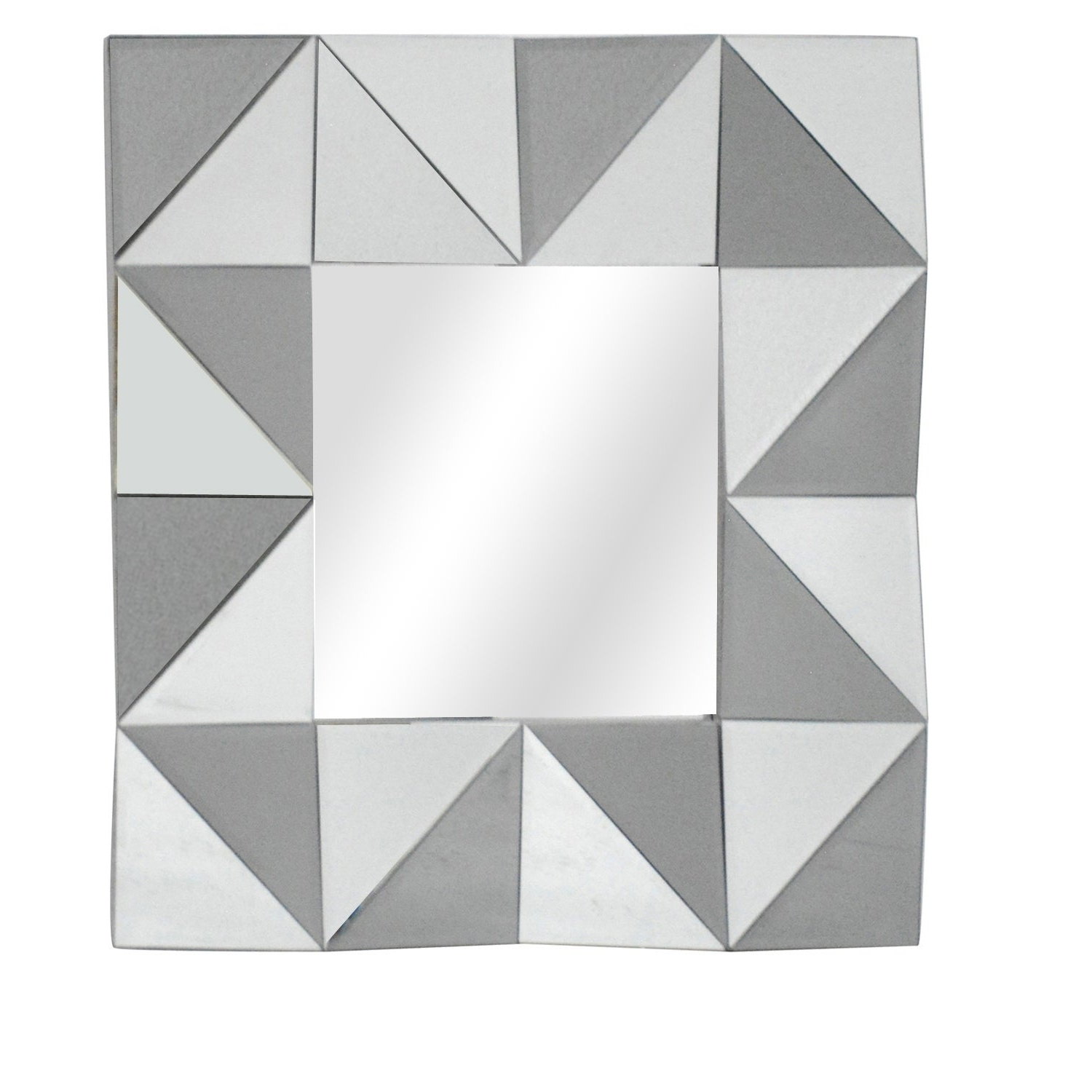 Squared Up Horizontal And Vertical Decorative Wall Mirror – A/n With Well Known Horizontal Decorative Wall Mirrors (View 7 of 20)