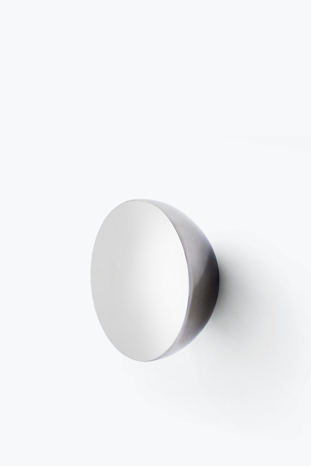 Stainless Steel Wall Mirrors Intended For Well Known Aura Wall Mirror – Stainless Steel, Large — New Works (View 14 of 20)