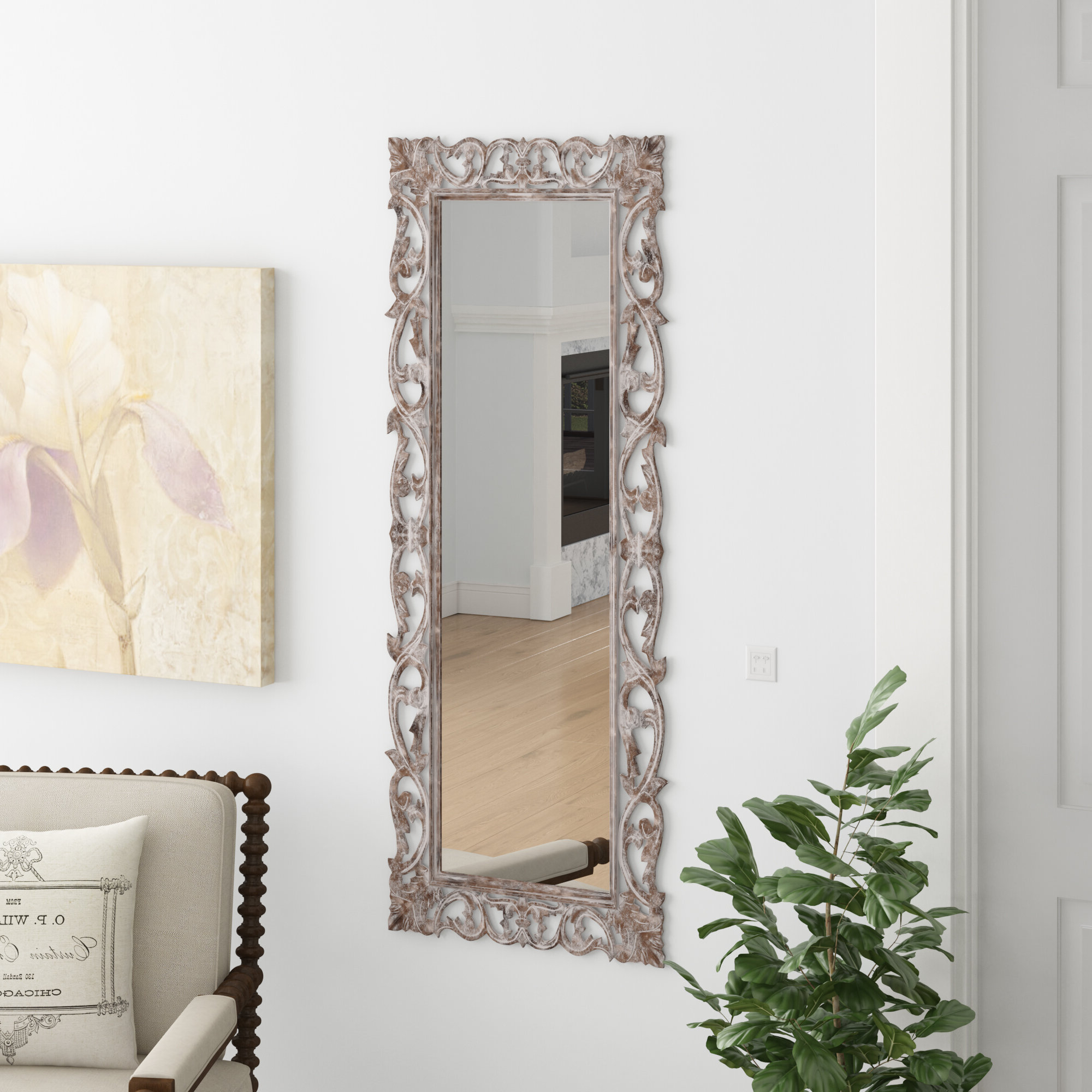 Stamey Wall Mirrors Throughout Newest Reuben Full Length Mirror (View 15 of 20)