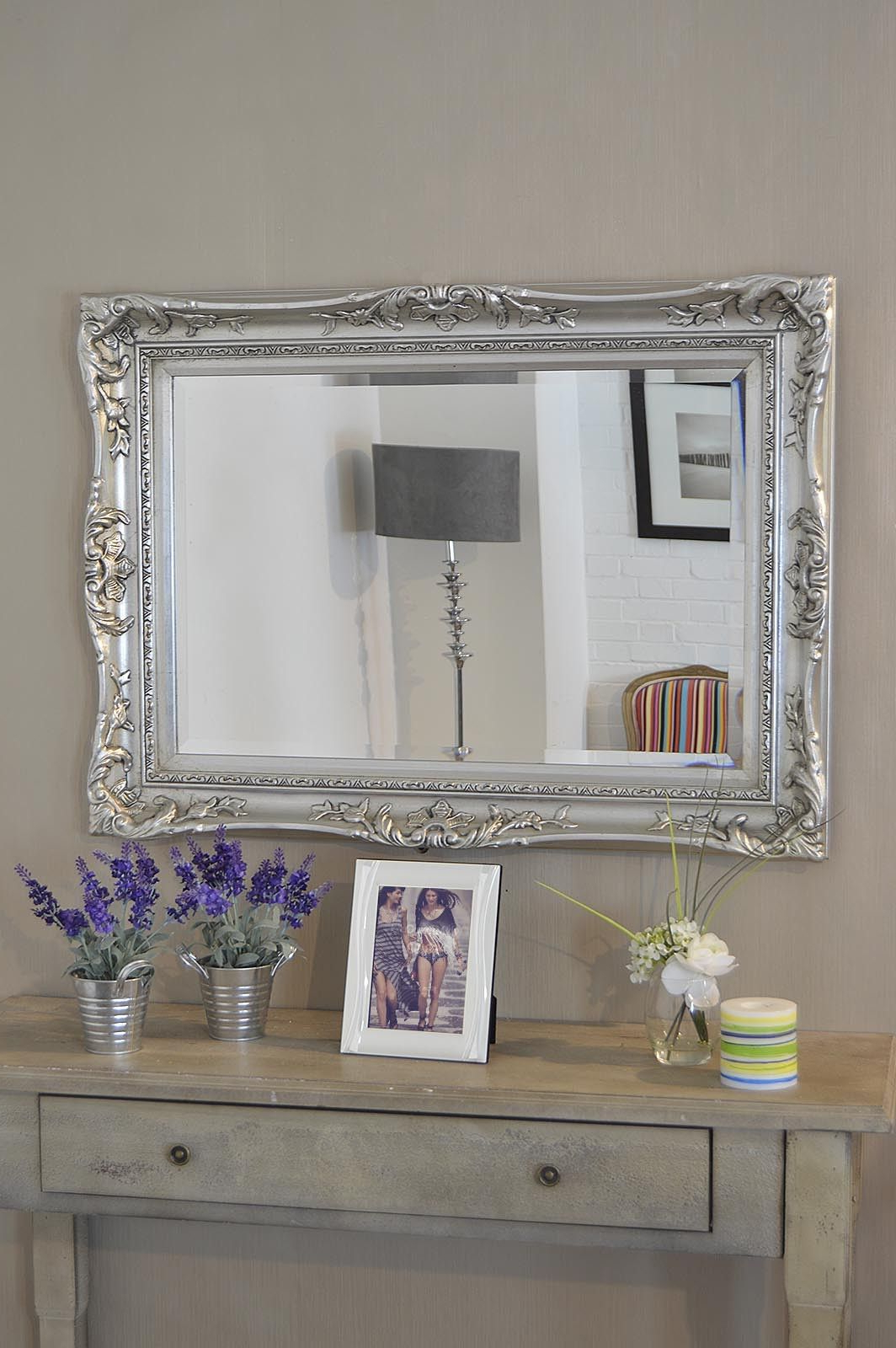 Stand Harry Oval Wall Frame Vector Poundstretcher Gold For With Current Large Silver Framed Wall Mirror (View 18 of 20)