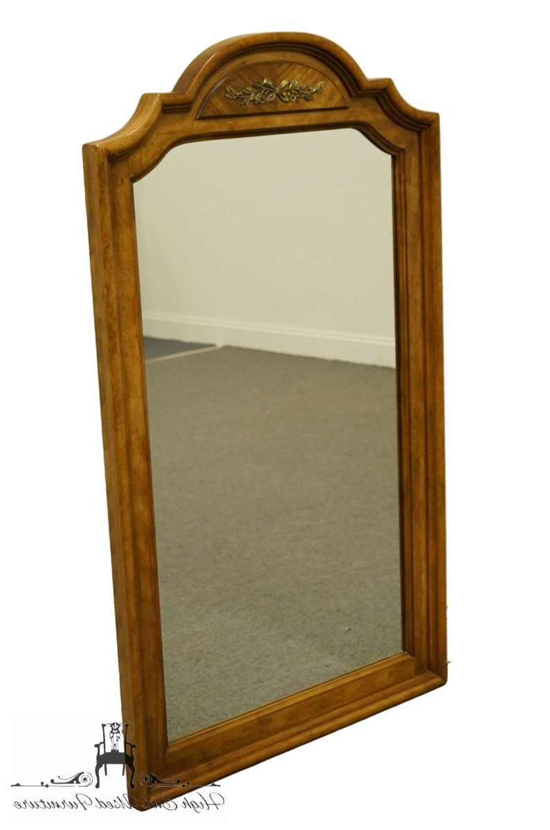 "Stanley Furniture Italian Neoclassical Tuscan Style 51X30"" Dresser / Wall Mirror Throughout Most Current Tuscan Style Wall Mirrors (View 11 of 20)"