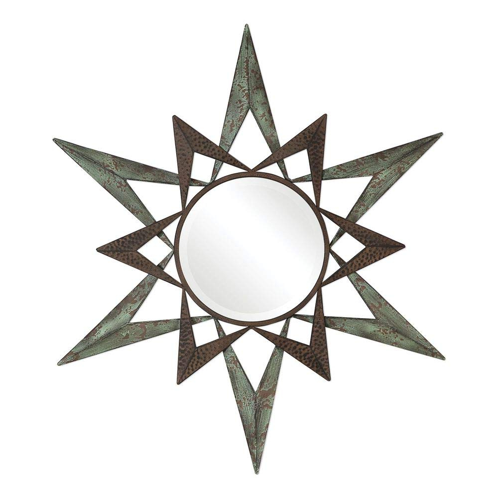 Star Wall Mirrors Within 2019 Amazon: Uttermost Star Round Wall Mirror: Home & Kitchen (View 12 of 20)