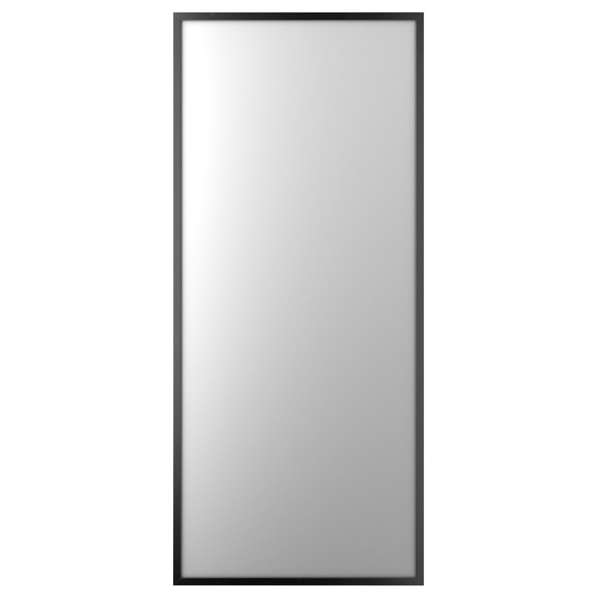"Stave Mirror – Black Brown, 27 1/2X63 "" – Ikea – $49 For End Of Within Popular Ikea Full Length Wall Mirrors (View 18 of 20)"