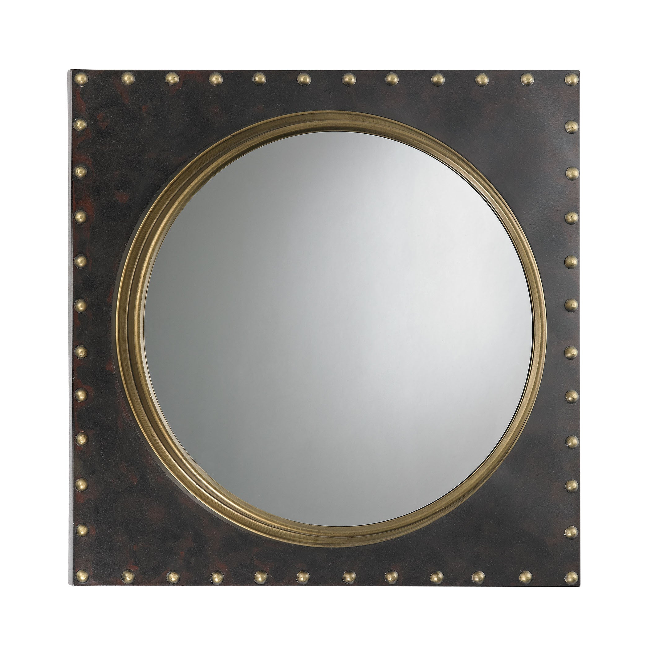 Sterling Metal Porthole Wall Mirror – Bronze/antique Gold Throughout Well Liked Porthole Wall Mirrors (View 15 of 20)