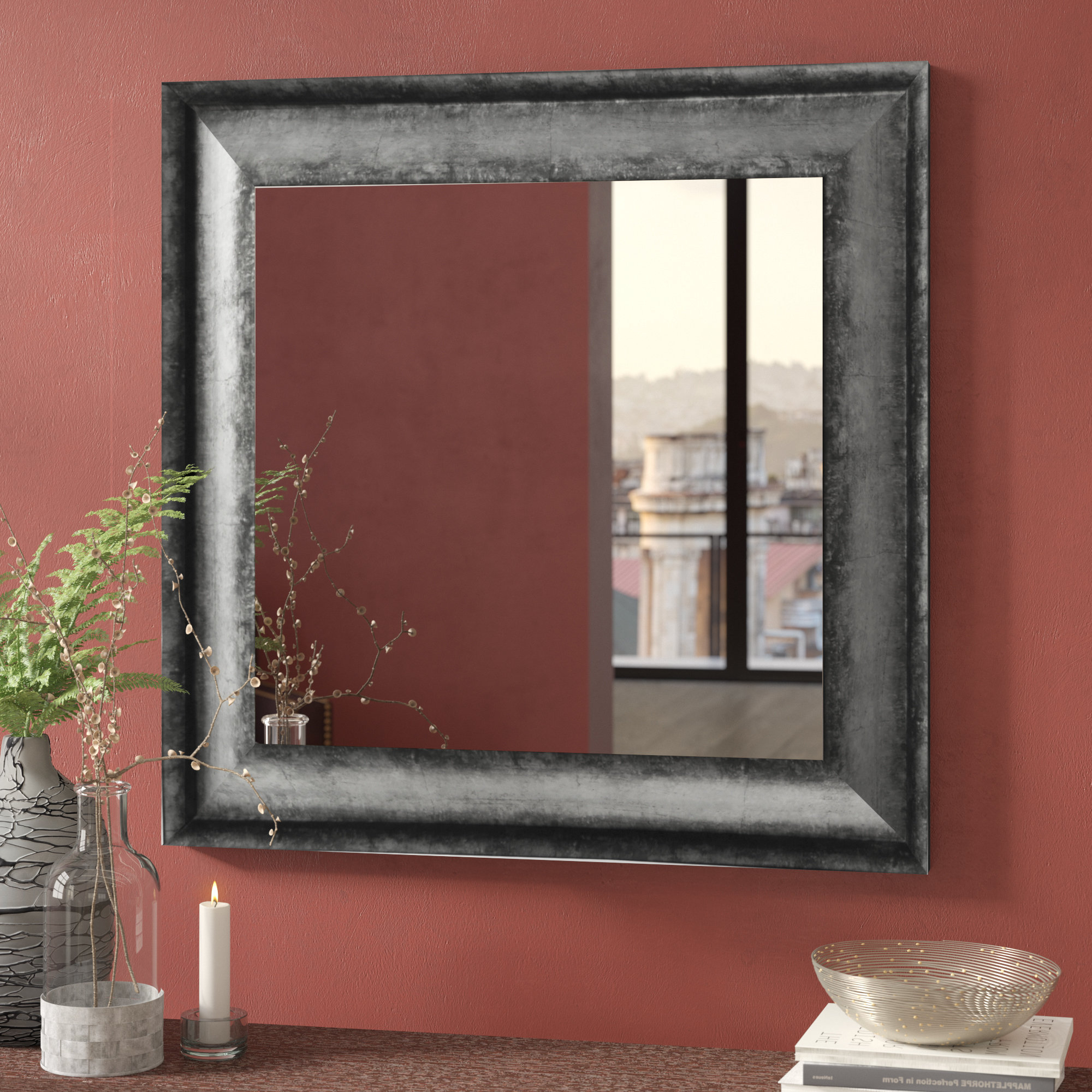 Sterling Square Wall Mirror In Popular Square Wall Mirrors (View 15 of 20)