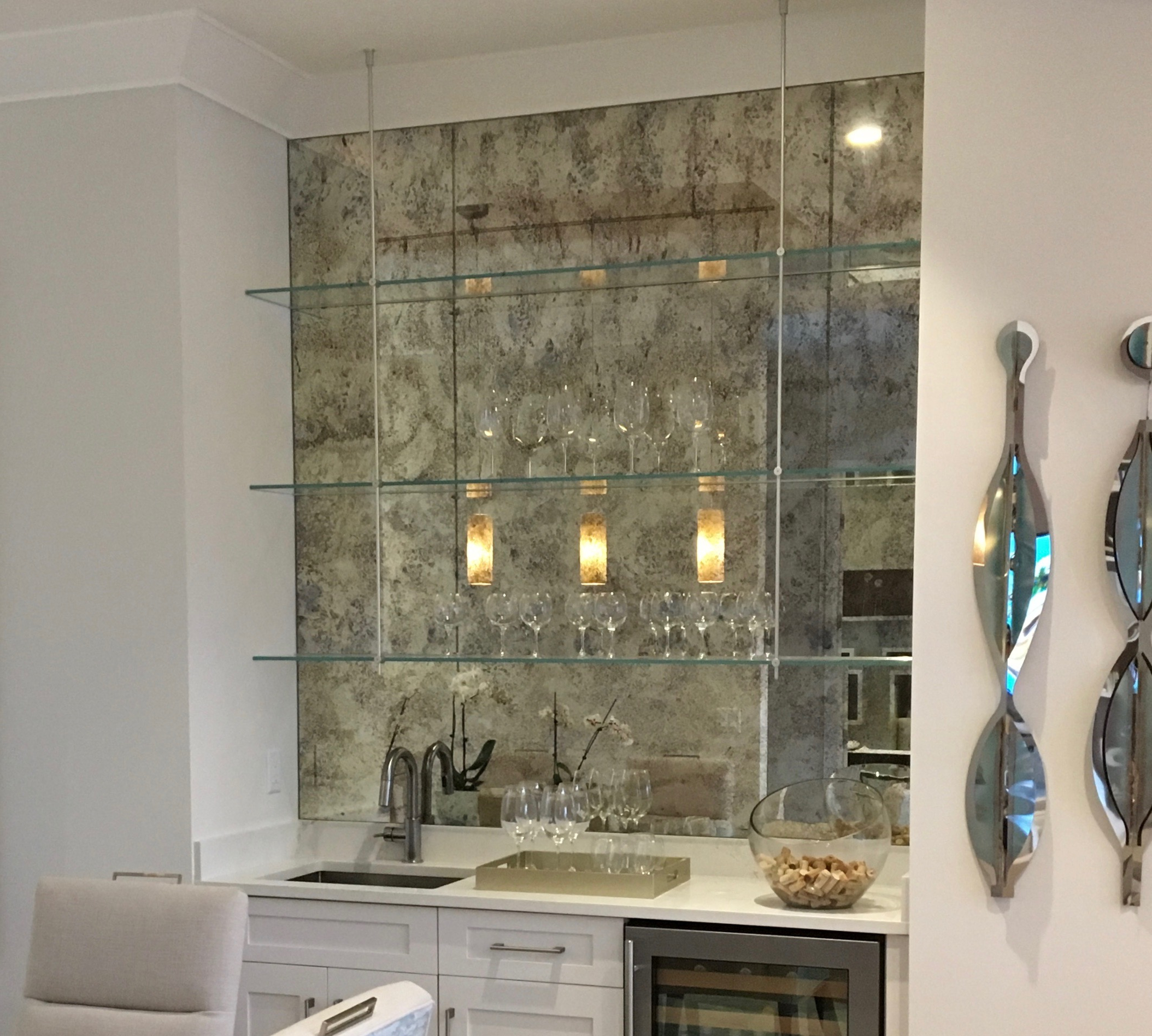 Stick On Wall Mirror Tiles Within Most Recently Released Antique Mirror Subway Tiles – Builders Glass Of Bonita, Inc. (Gallery 13 of 20)