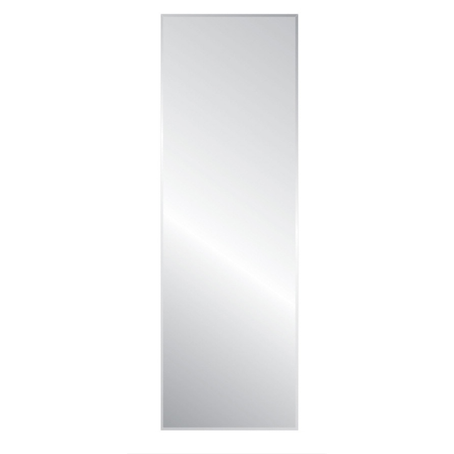 Style Selections L X W Beveled Wall Mirror At Lowesforpros Regarding Most Current Long Silver Wall Mirrors (View 17 of 20)