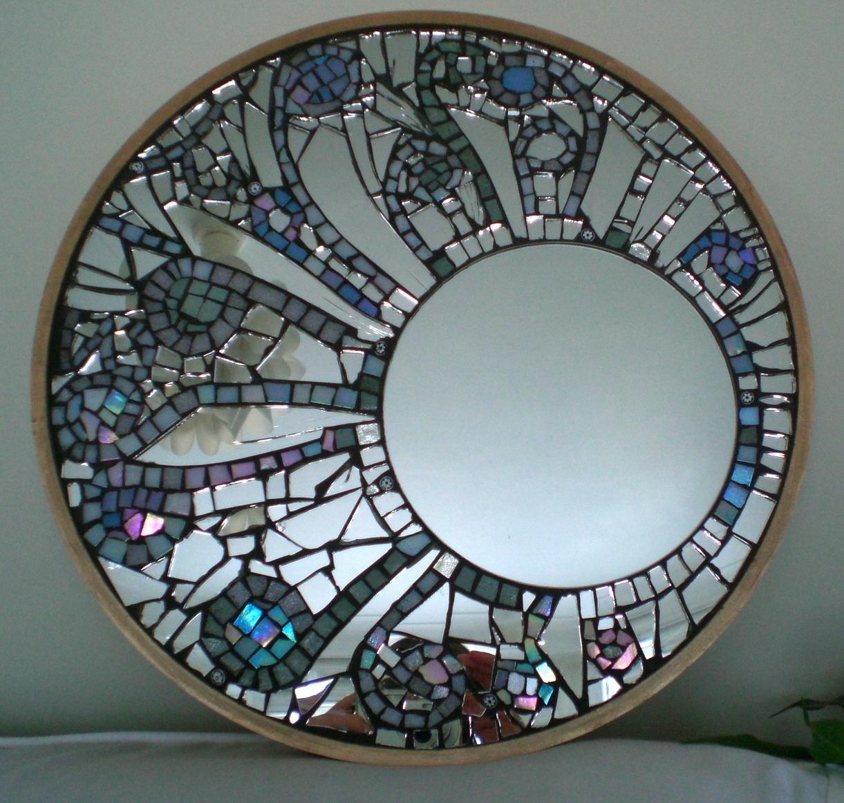 Stylish Mosaic Wall Mirror – House Photos Pertaining To Famous Glass Mosaic Wall Mirrors (View 11 of 20)