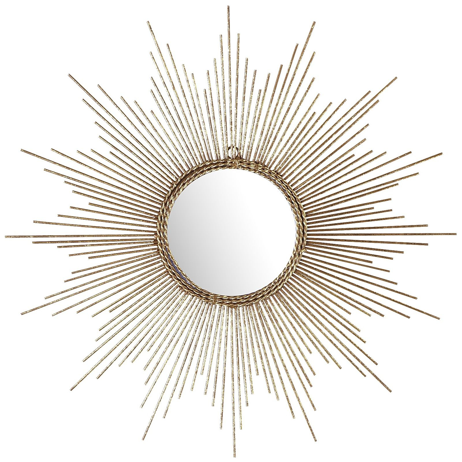Sun Ray Wall Mirrors Intended For Most Recent Tremendous Sun Mirror Wall Decor With Petite Gold Burst (Gallery 10 of 20)
