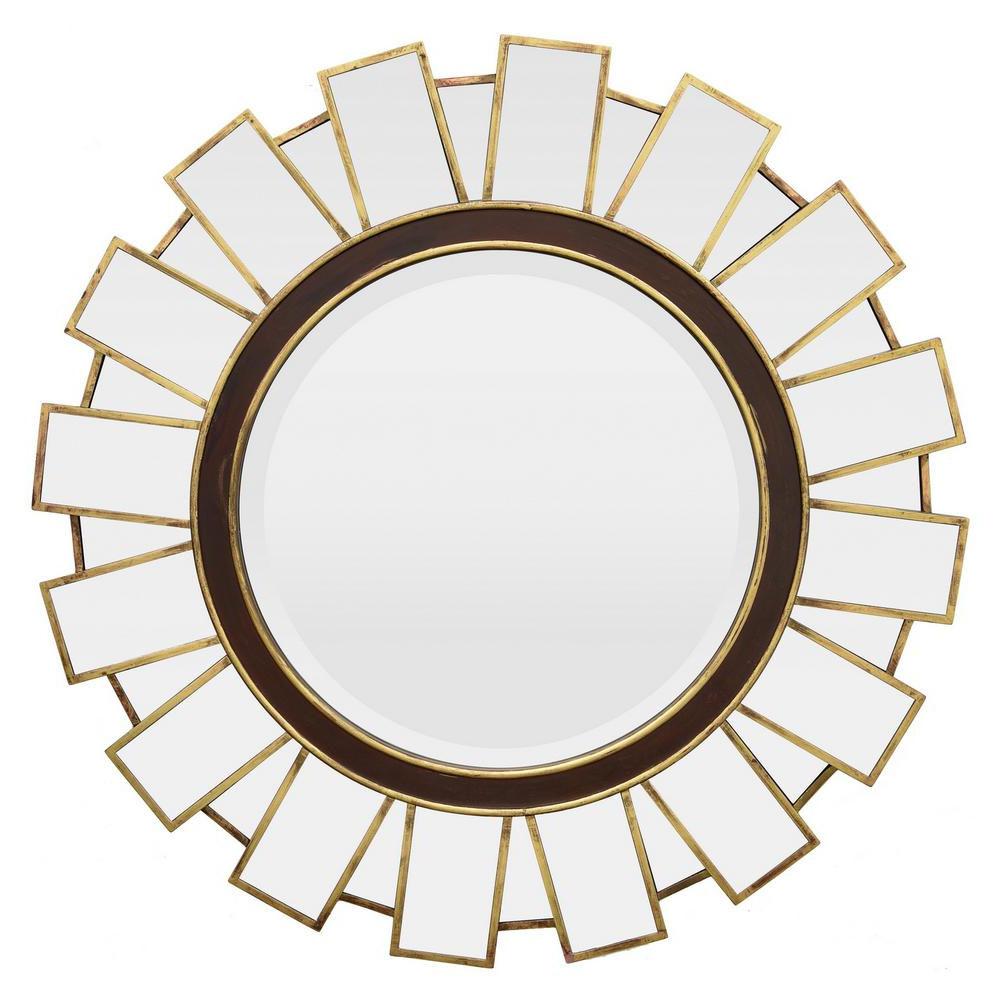 Sun Ray Wall Mirrors Within Most Recent 36 In. X 1.25 In. X 36 In (View 6 of 20)