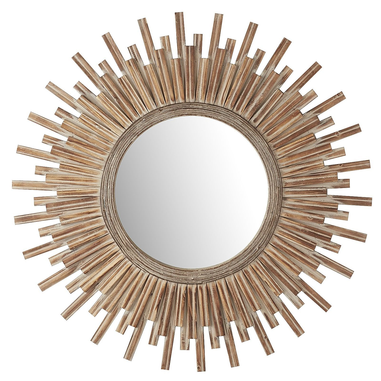 Sunburst Mirror, Mirror Within Well Known Perillo Burst Wood Accent Mirrors (Gallery 5 of 20)