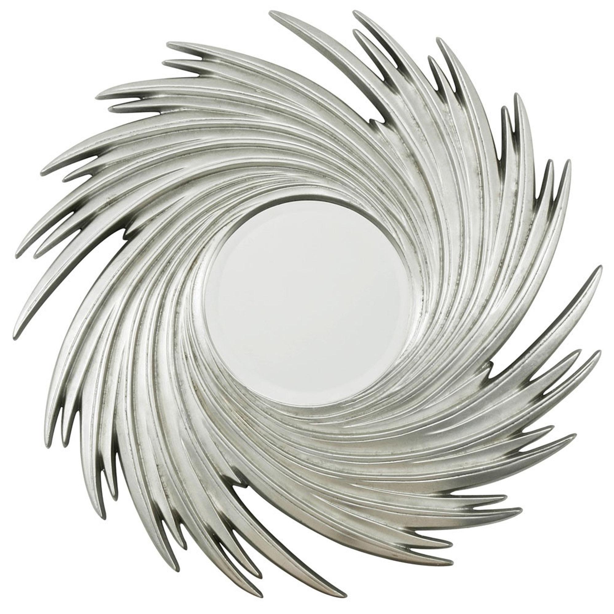 Sunburst Swirl Wall Mirror Inside Popular Sunburst Wall Mirrors (View 15 of 20)