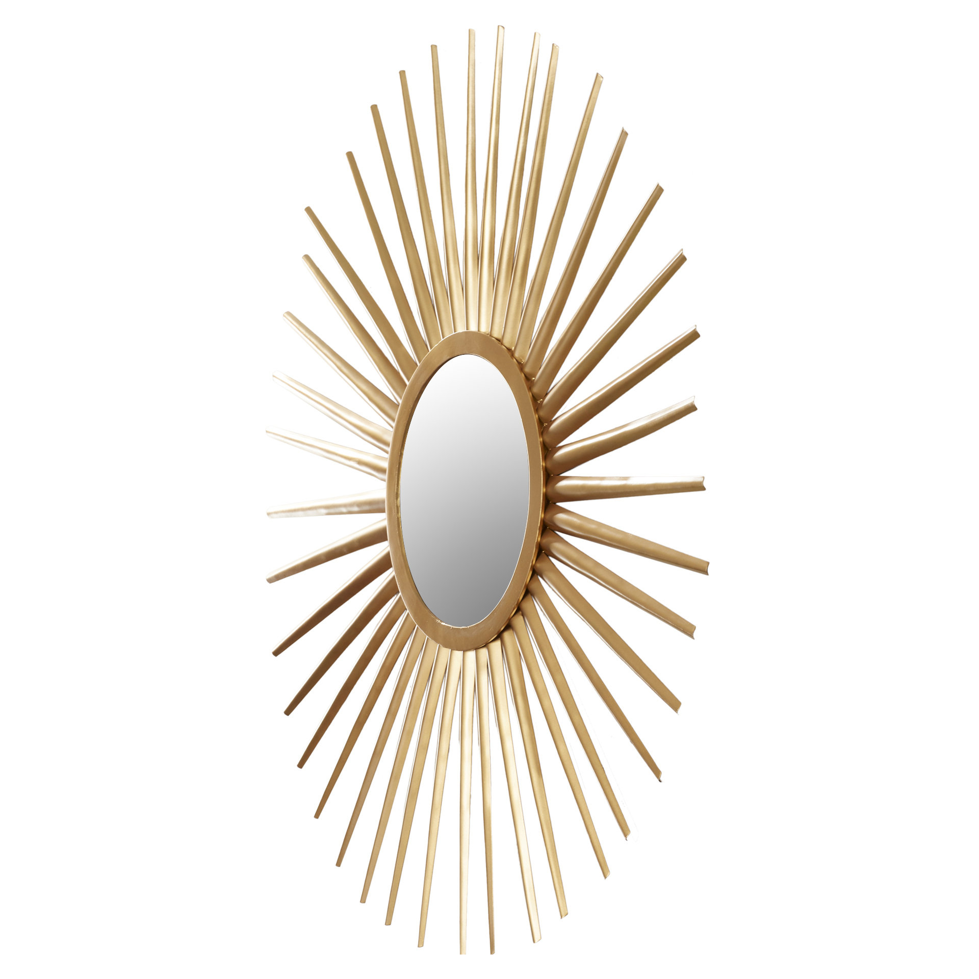 Sunburst Wall Mirror With Regard To Most Current Birksgate Sunburst Accent Mirrors (View 12 of 20)