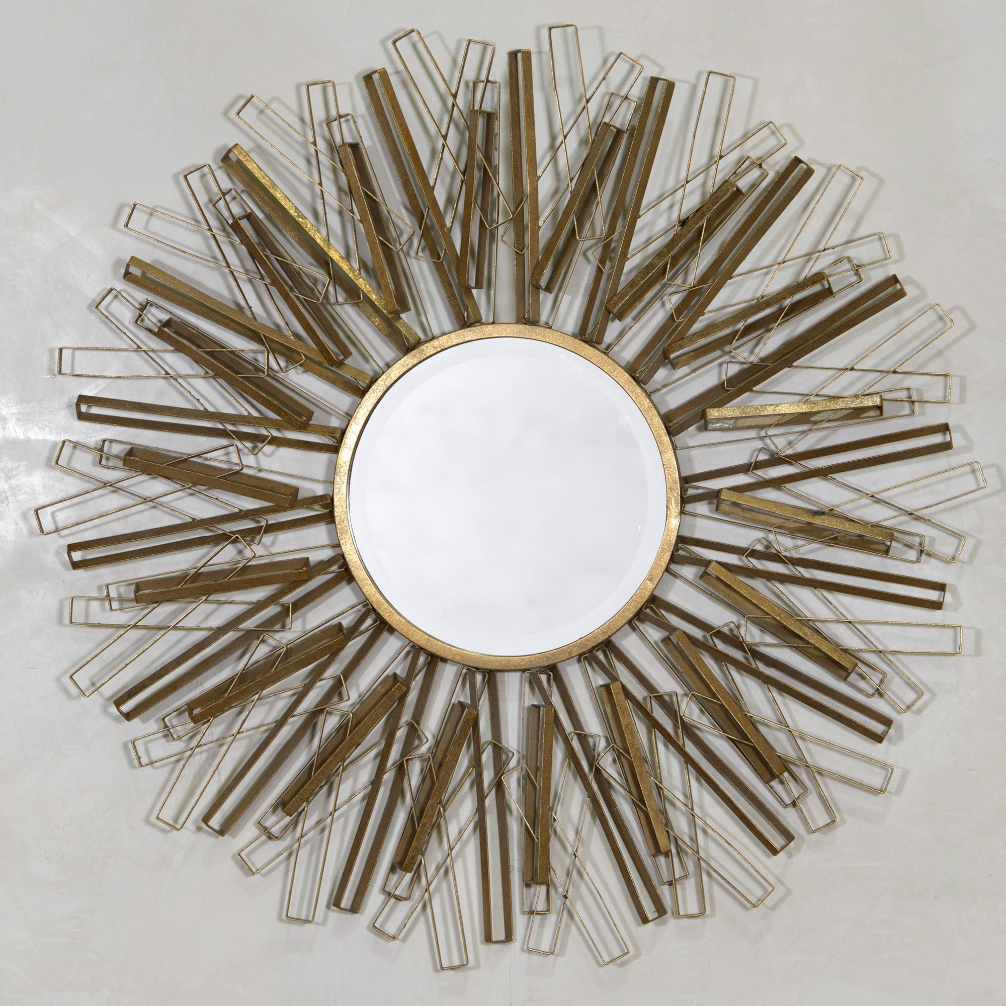 Sunburst Wall Mirrors With Regard To Most Current Antique Gold Sunburst Wall Mirror (View 19 of 20)
