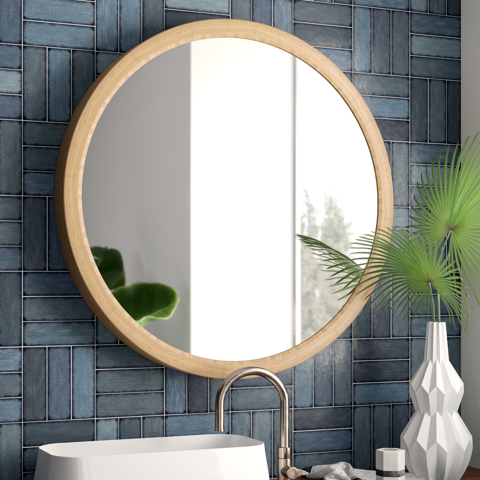 Swagger Accent Wall Mirrors Regarding Most Recent Rigdon Rustic Accent Mirror (View 14 of 20)