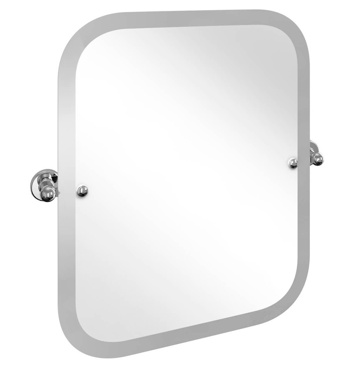 Swivel Wall Mirrors Throughout Newest Burlington Arcade Rectangular Wall Mounted Swivel Mirror With Curved Corners (View 15 of 20)