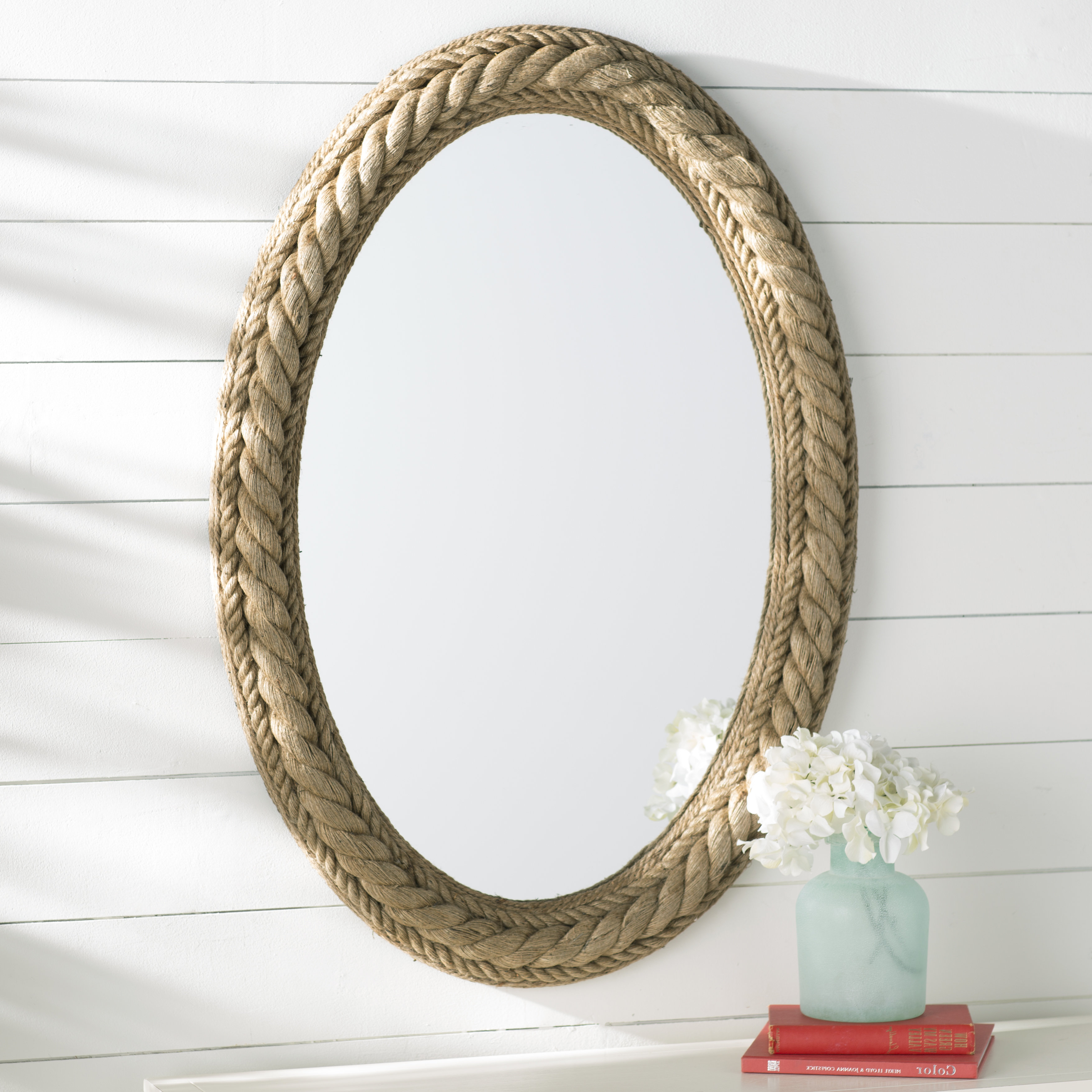Sydney Rope Wall Mirror For Most Up To Date Mcnary Accent Mirrors (View 15 of 20)