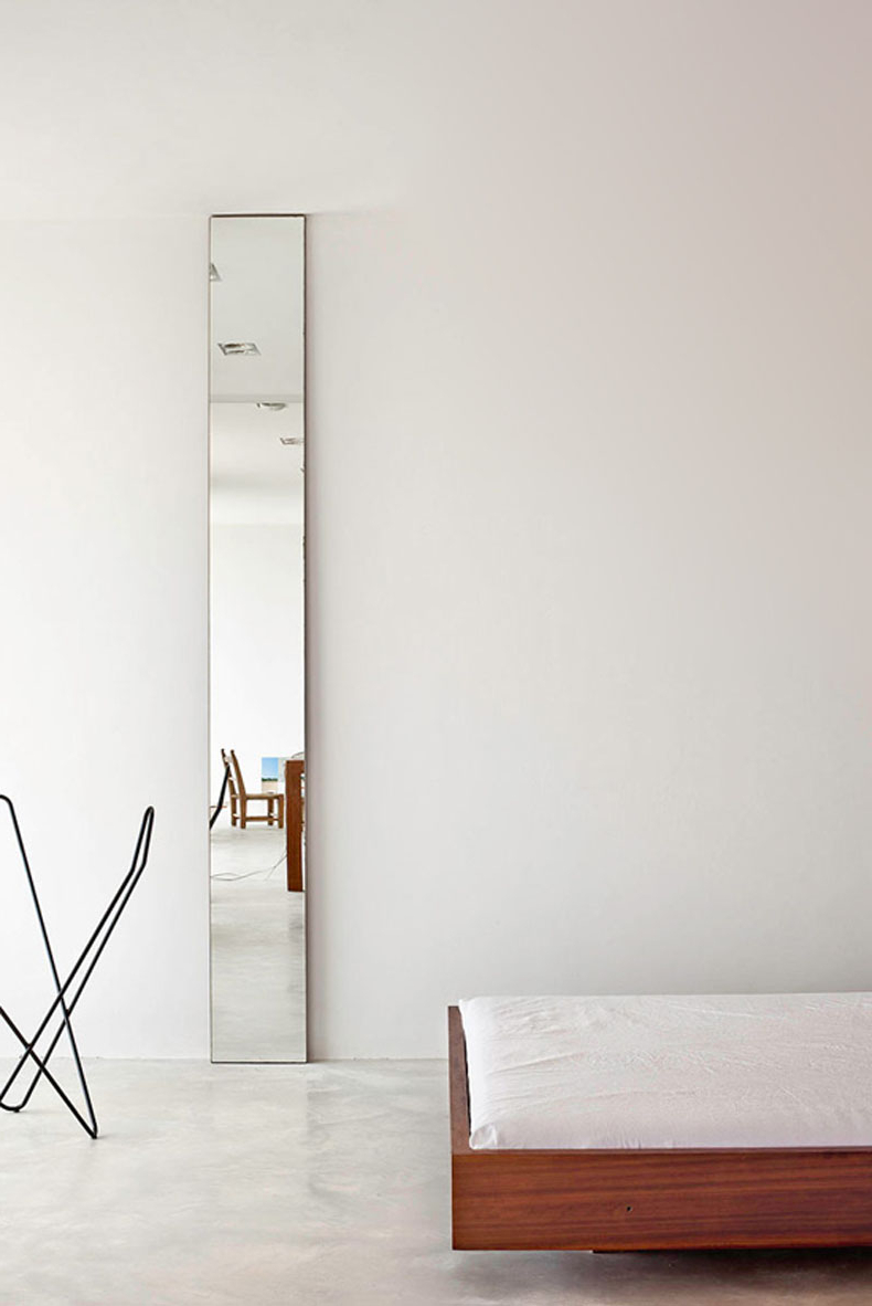 Tall Narrow Wall Mirrors Inside Recent The Unexpected Illumination Of Sliver Mirrors – Improvised Life (View 15 of 20)