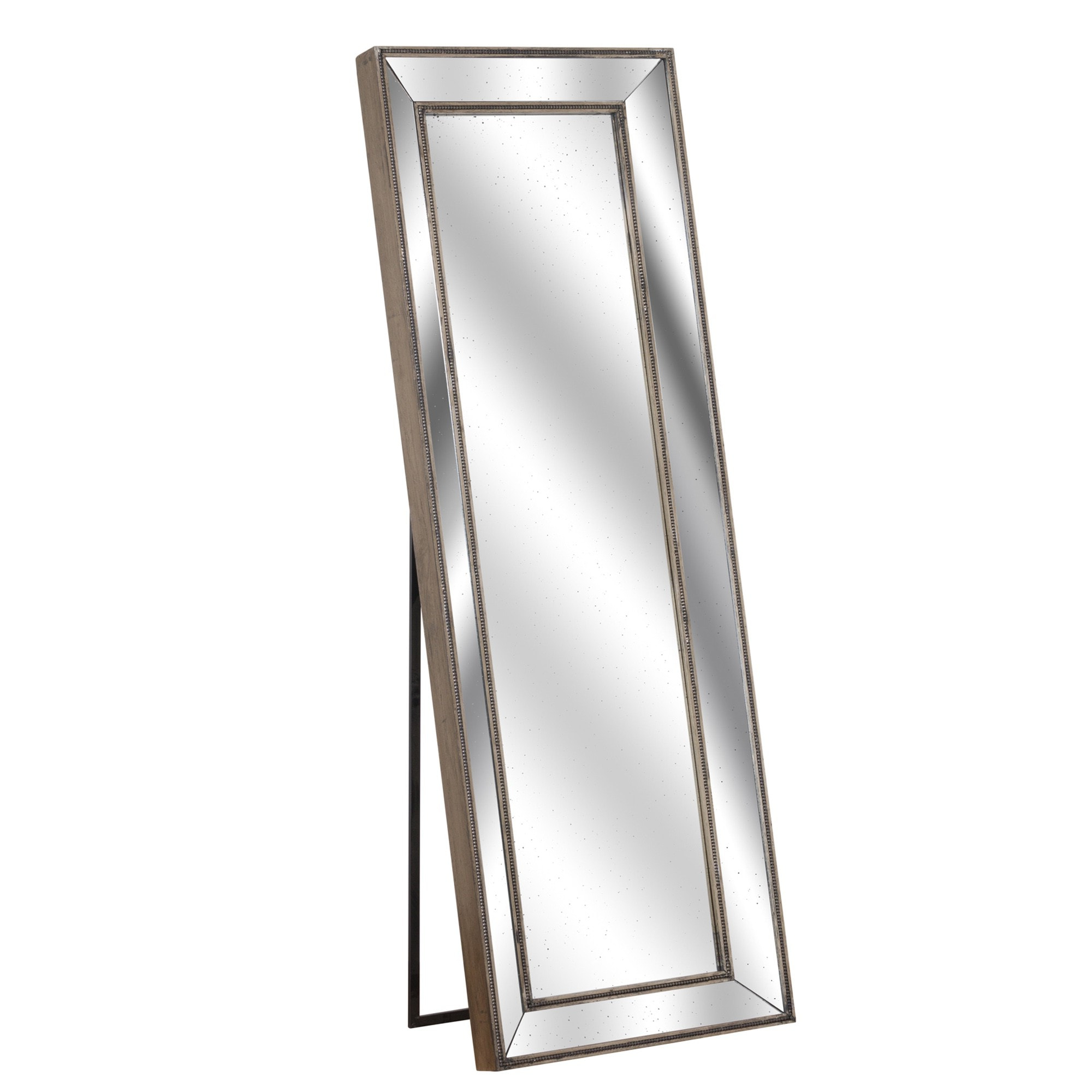 Tall Wall Mirrors With Well Known Augustus Tall Cheval Wall Mirror (View 4 of 20)
