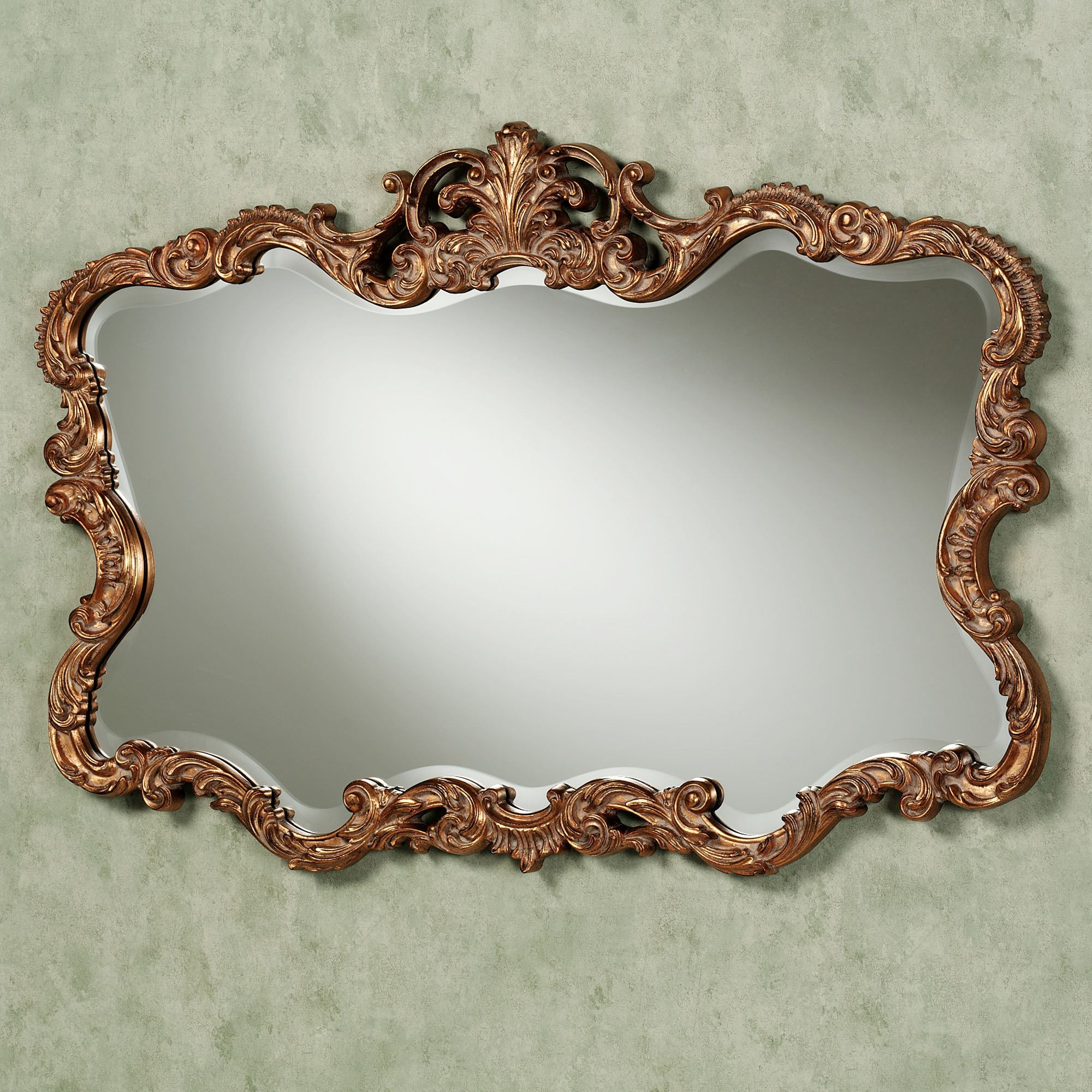 Tamsyn Wall Mirror Intended For Widely Used Antique Gold Wall Mirrors (View 13 of 20)