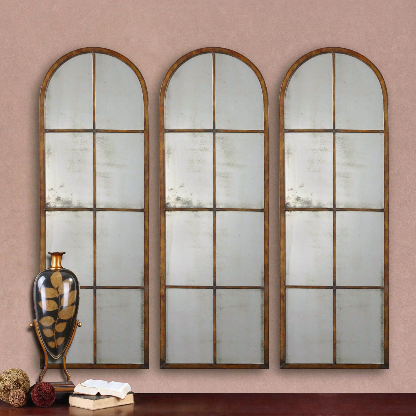 Tellier Accent Wall Mirrors Intended For Well Known Nerissa Arched Accent Mirror (View 14 of 20)