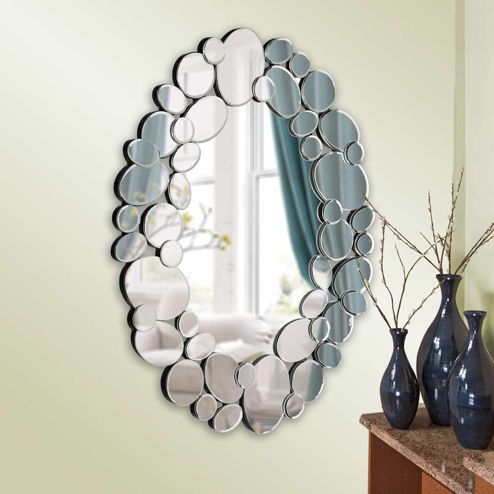 Terrific Mirror Designs For Living Room Photo Design Throughout Current Whimsical Wall Mirrors (View 13 of 20)