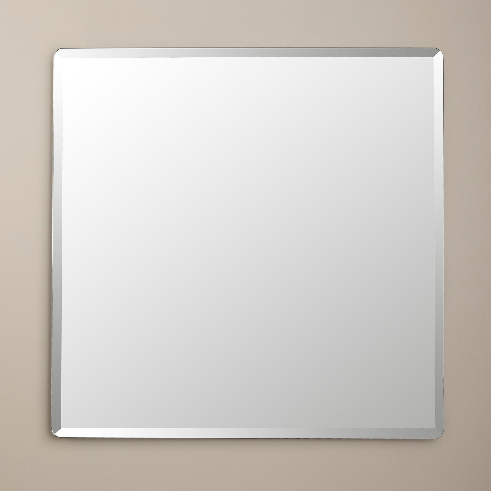 Tetbury Frameless Tri Bevel Wall Mirrors Throughout Most Current Wade Logan® Kayden Frameless Beveled Wall Mirror – Possible For Boys (View 9 of 20)