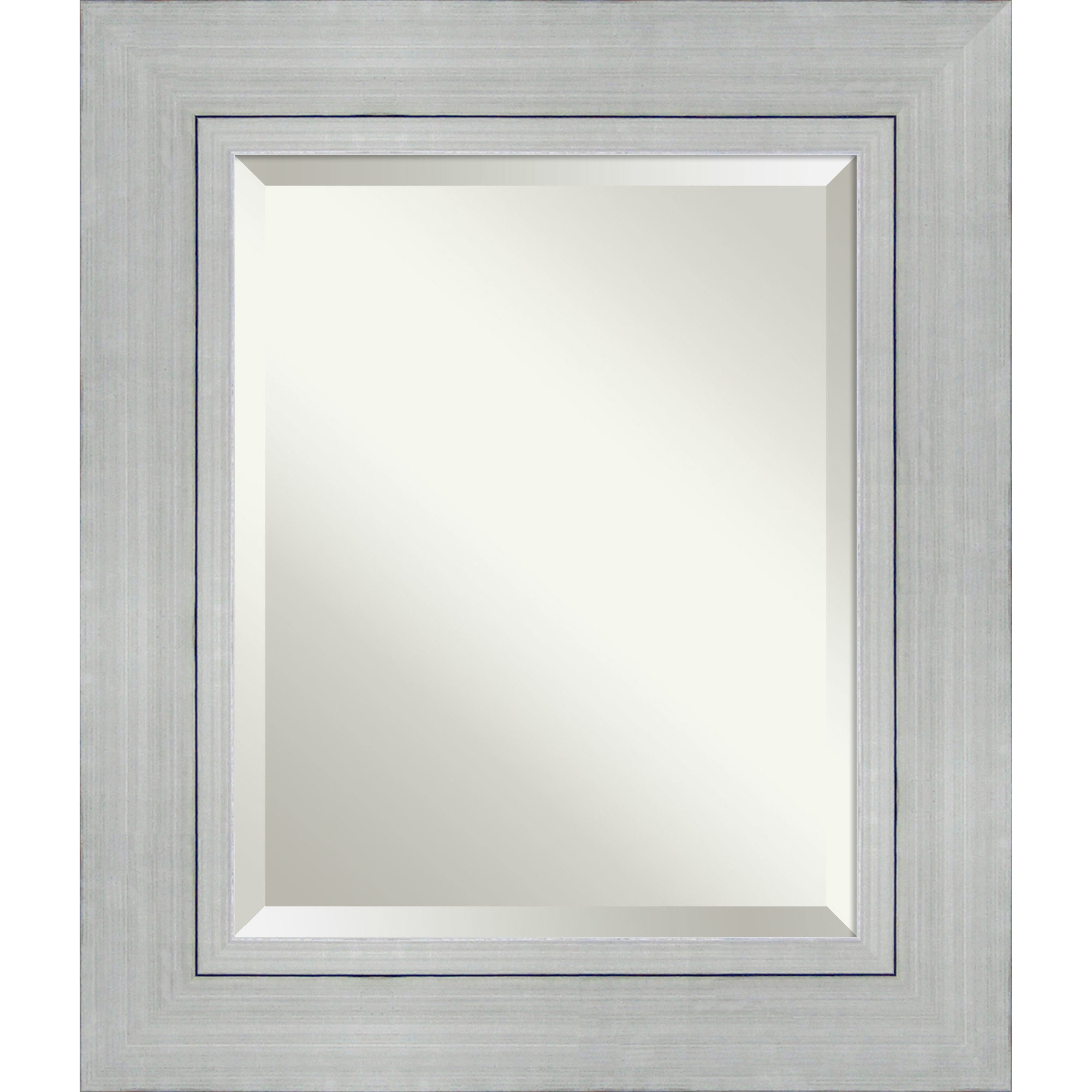 Tetbury Frameless Tri Bevel Wall Mirrors Within Newest Weeks Rectangle Wall Mirror (Gallery 8 of 20)