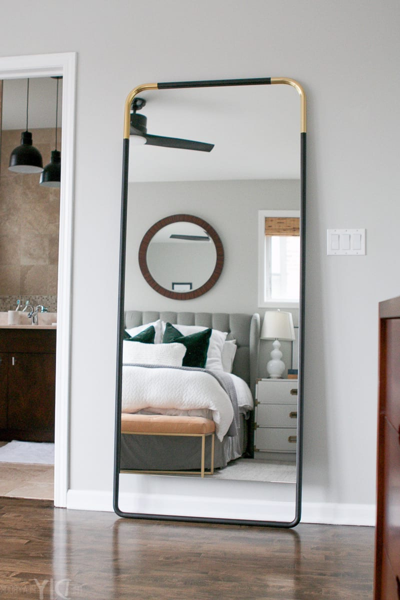 The Diy Playbook Throughout Trendy Leaning Wall Mirrors (View 7 of 20)